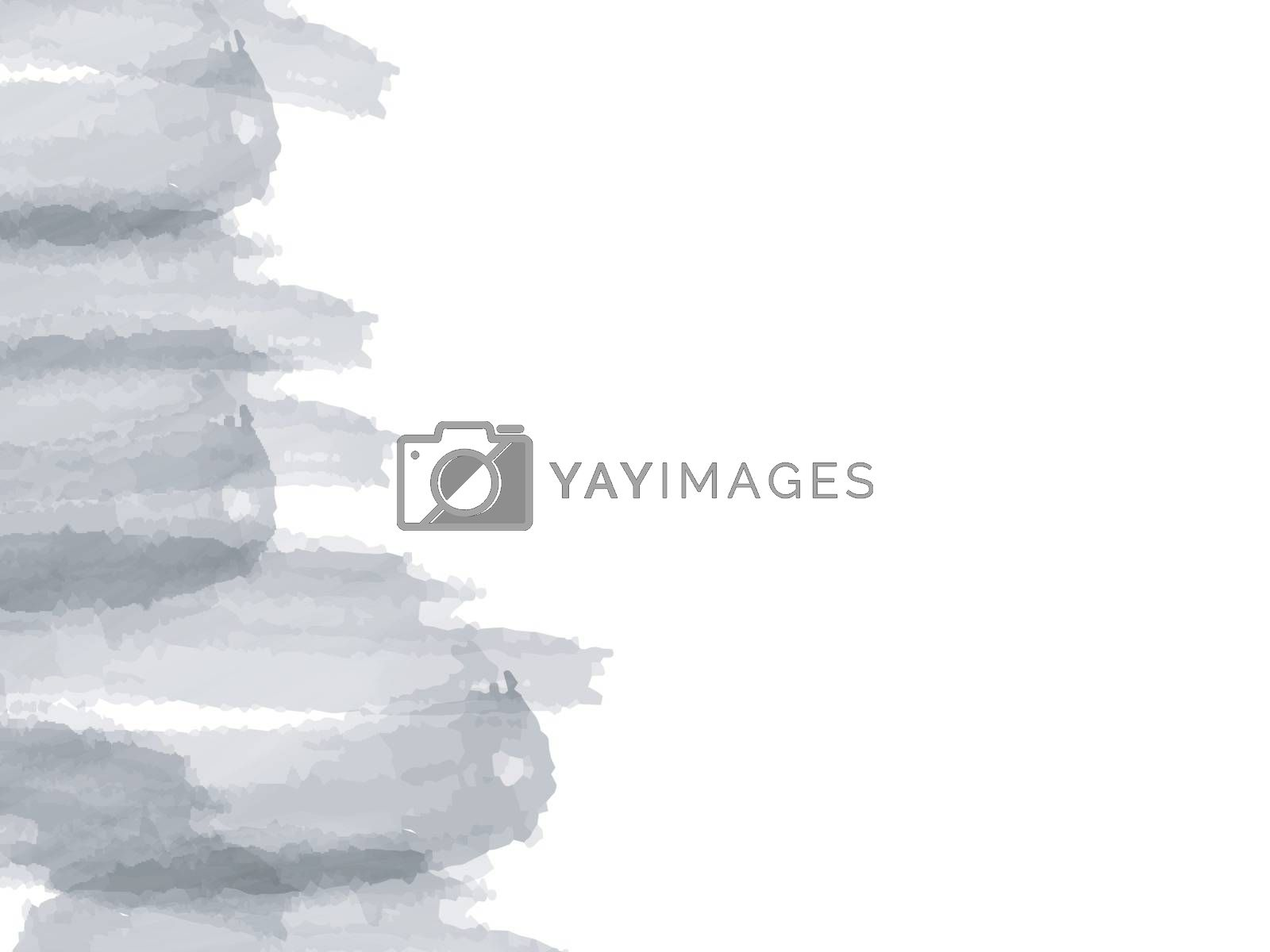 Abstract background with grey brush strokes.
