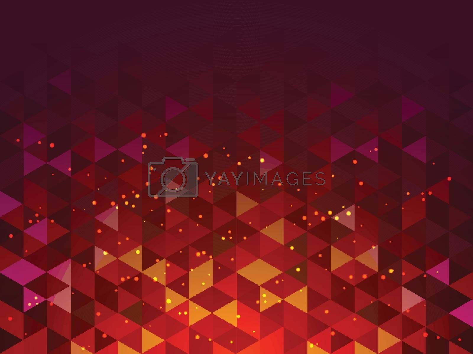 Creative modern abstract geometric background.