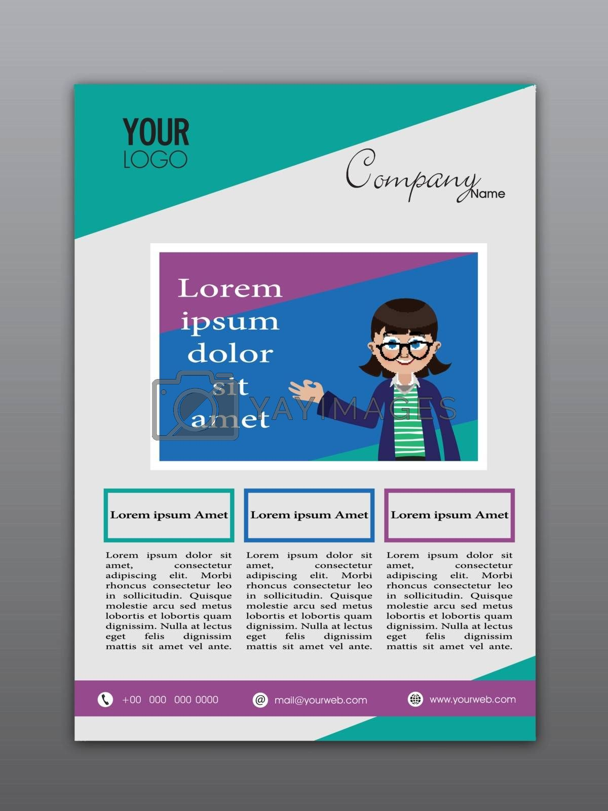 Creative Flyer, Template or Banner design for your Business.