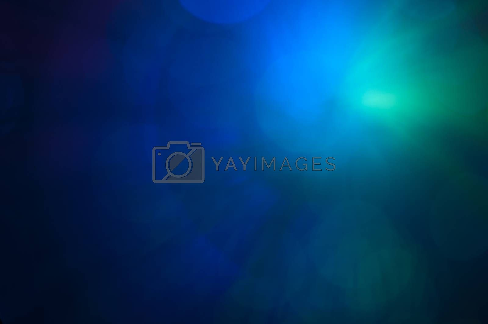 Abstract background blurry lights from optic fibers
