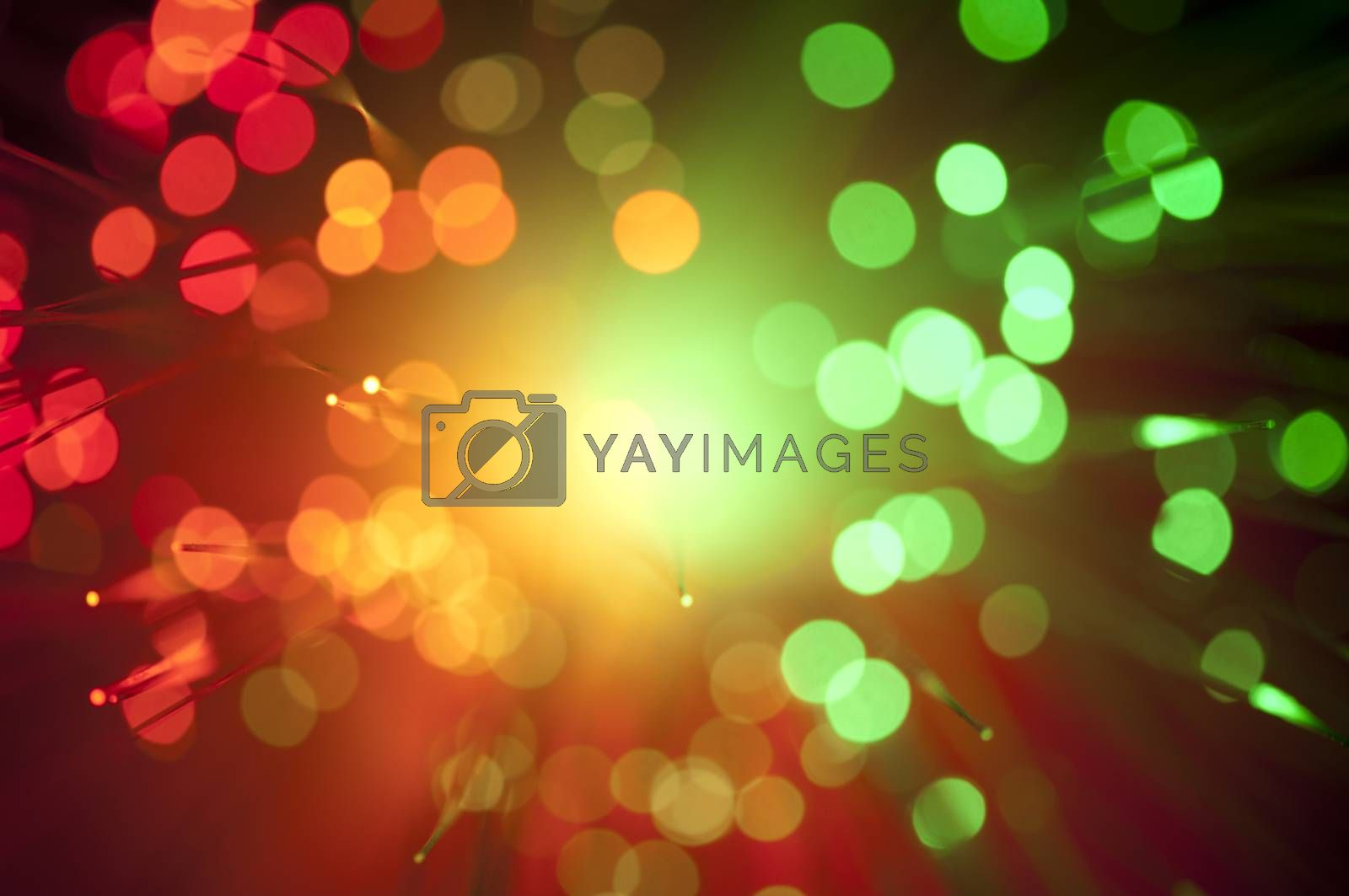 Abstract background blurry lights by deyan_georgiev