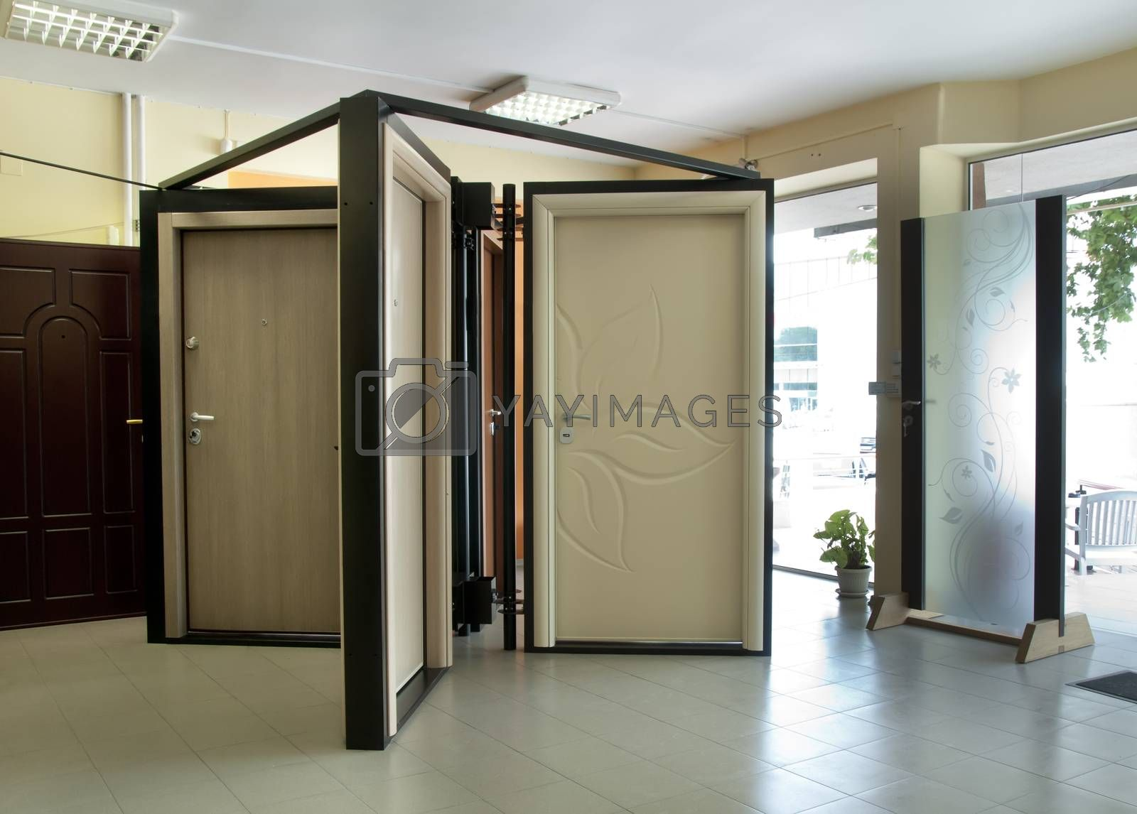 Doors shop and stillage. Sell doors