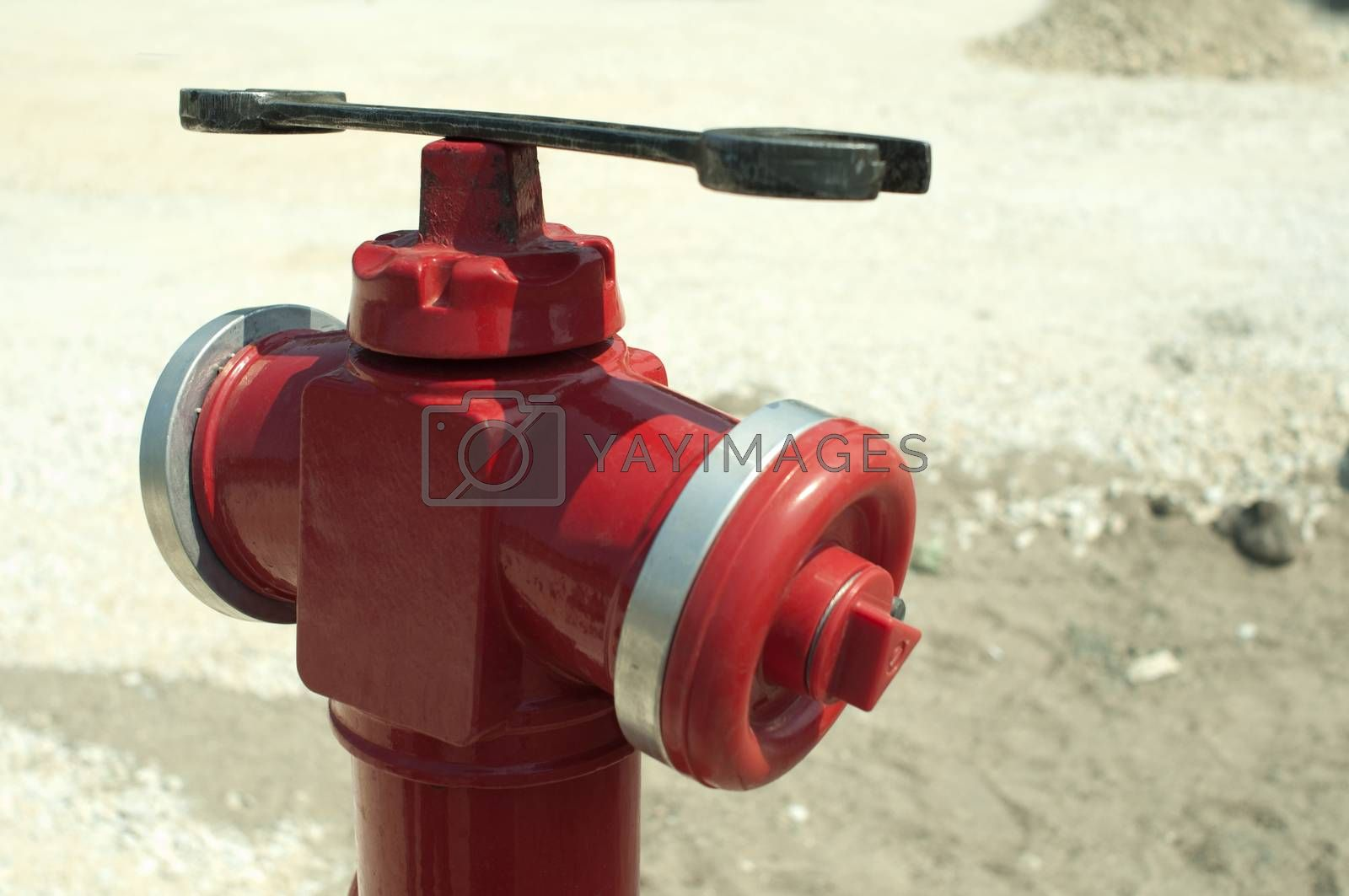 Fire hydrant and wrench