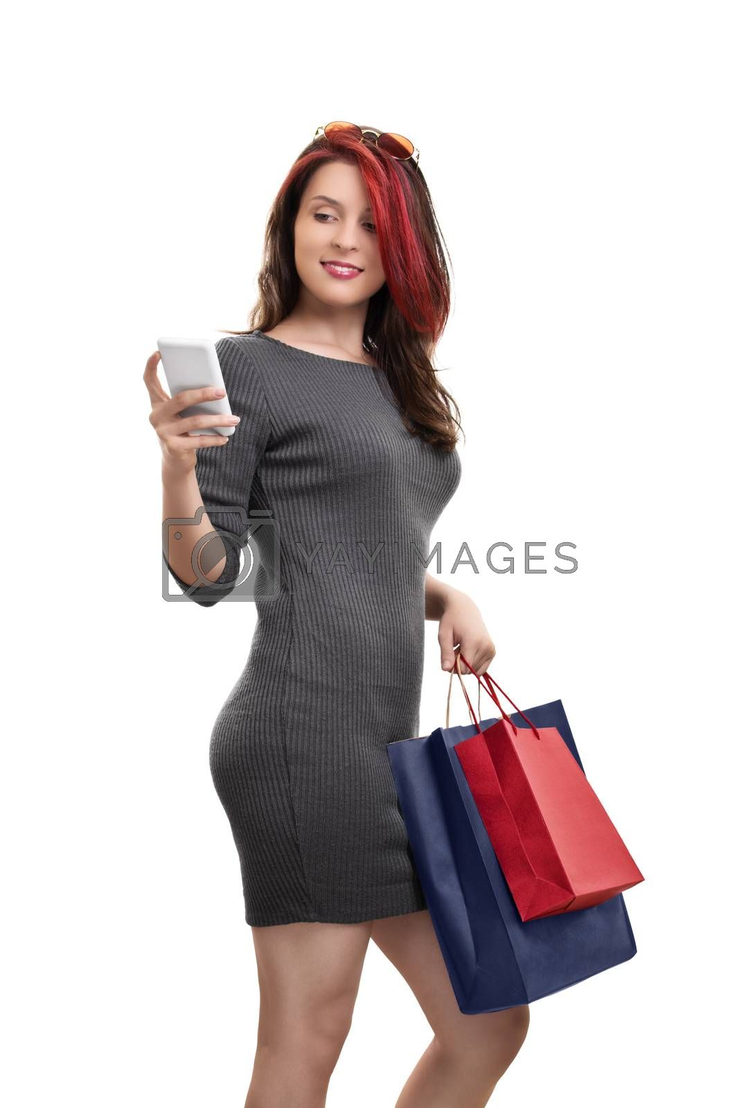 Shopping and social media go together by Mendelex
