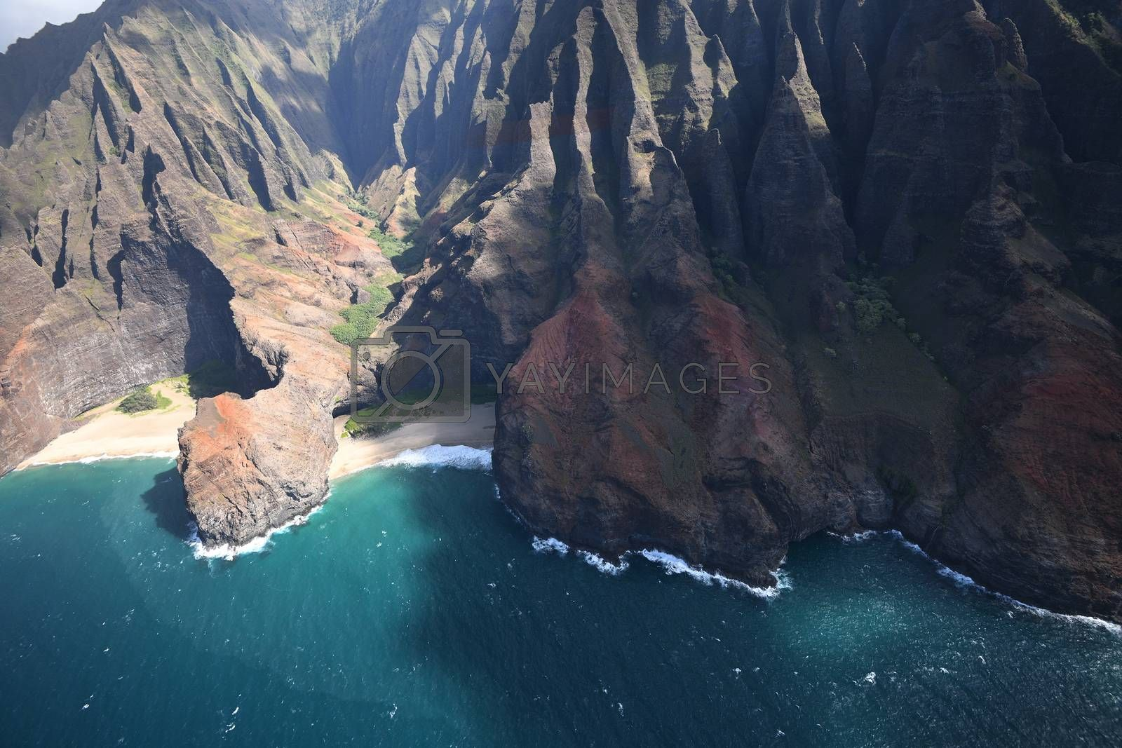Royalty free image of Kauai coast landscape by porbital