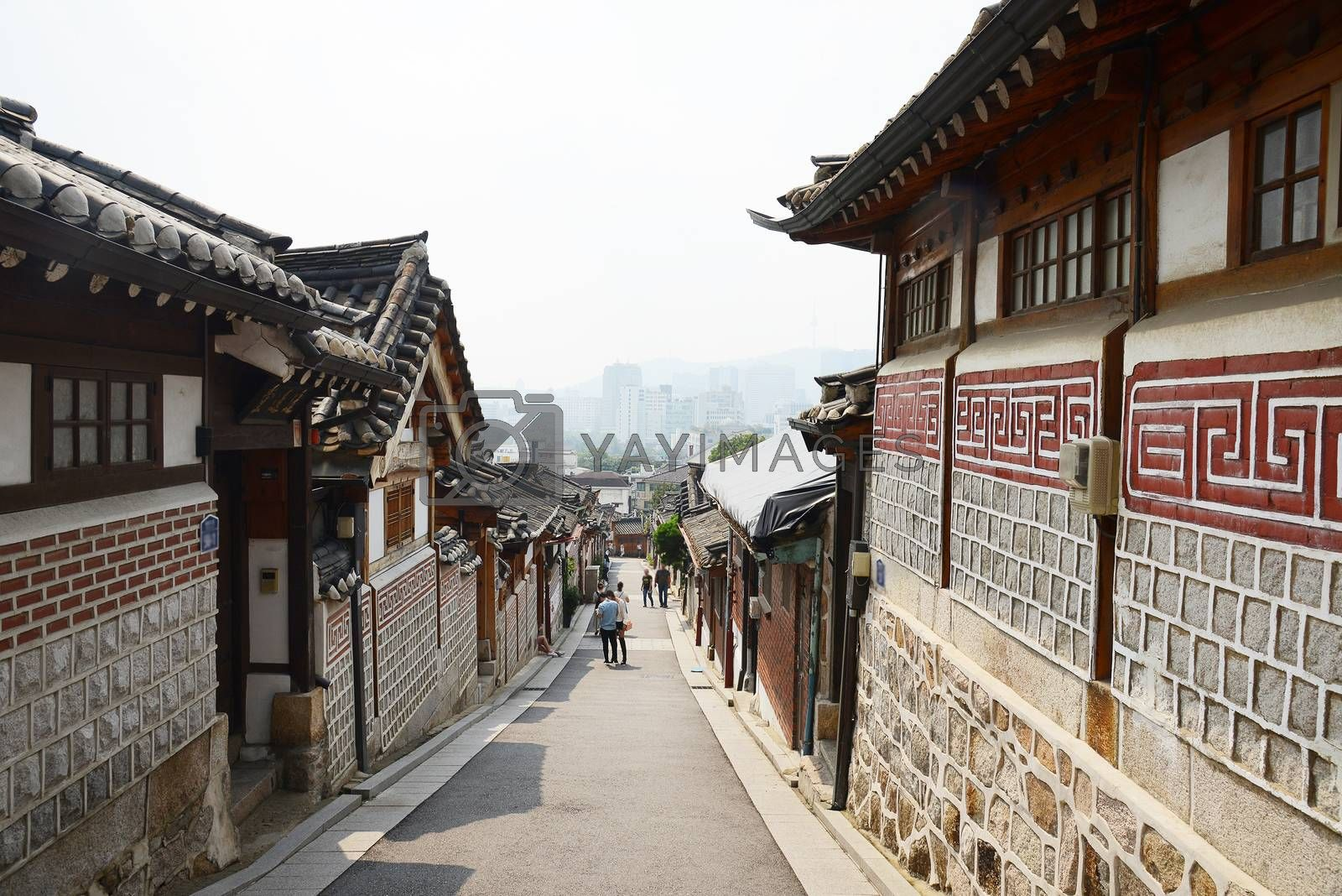 Royalty free image of Korean Old town  by porbital