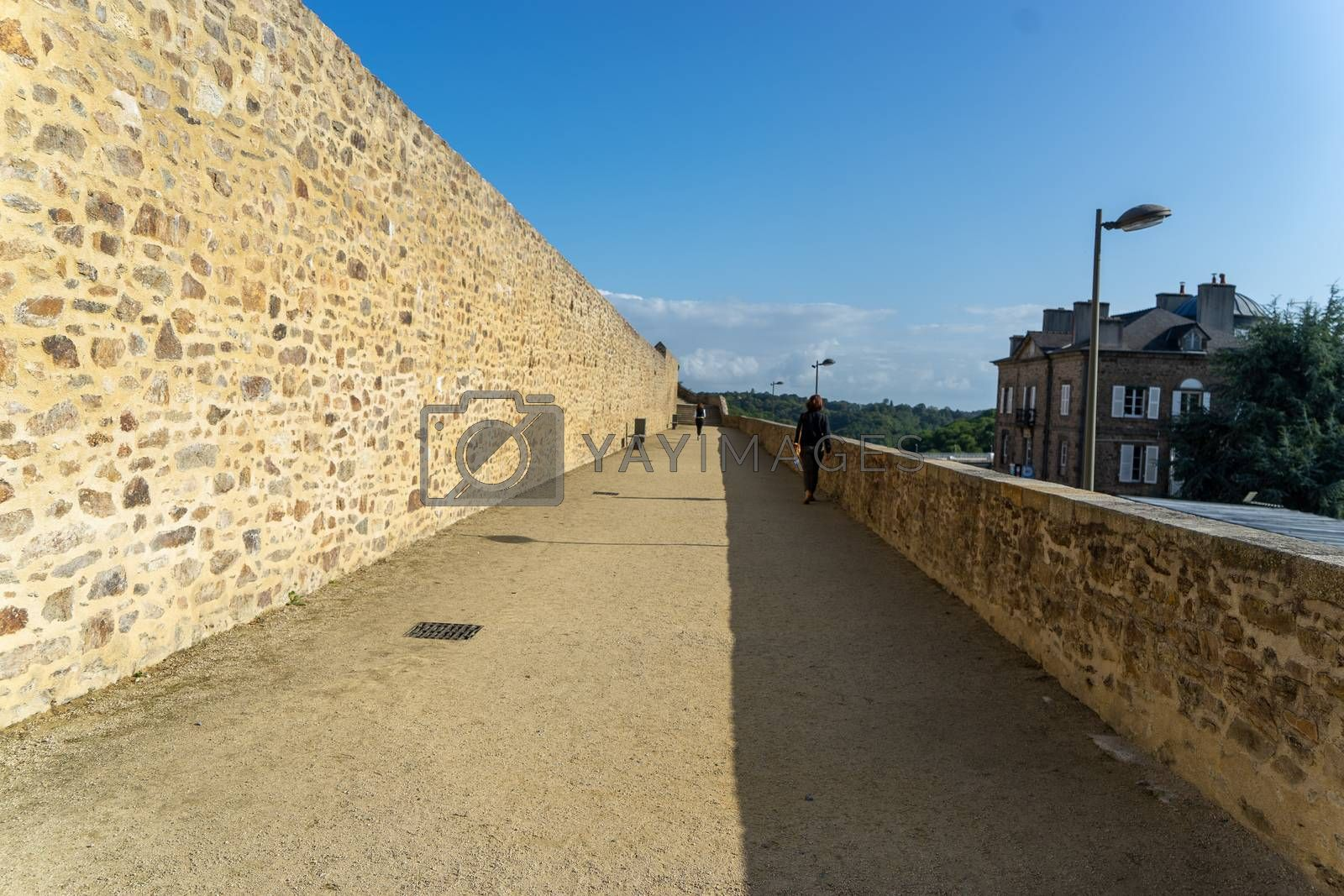 Travel for historic architecture in Britanny summer tourism attraction