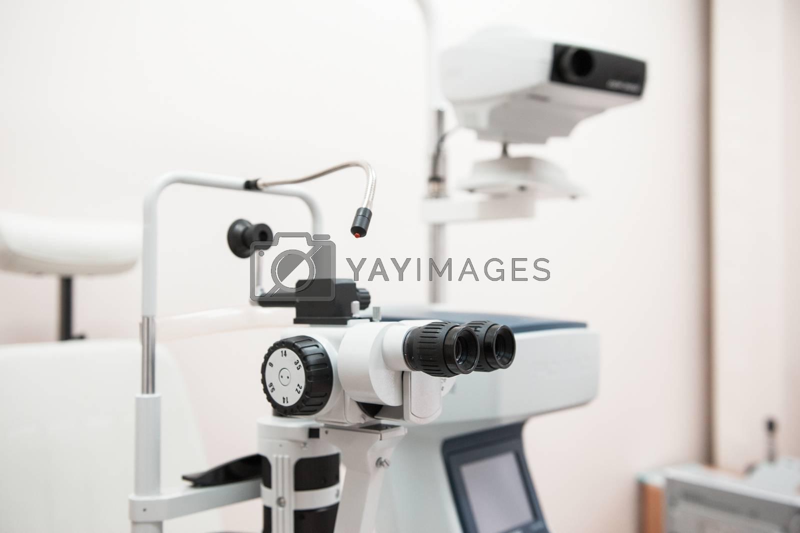 Royalty free image of Modern medical equipment by rusak