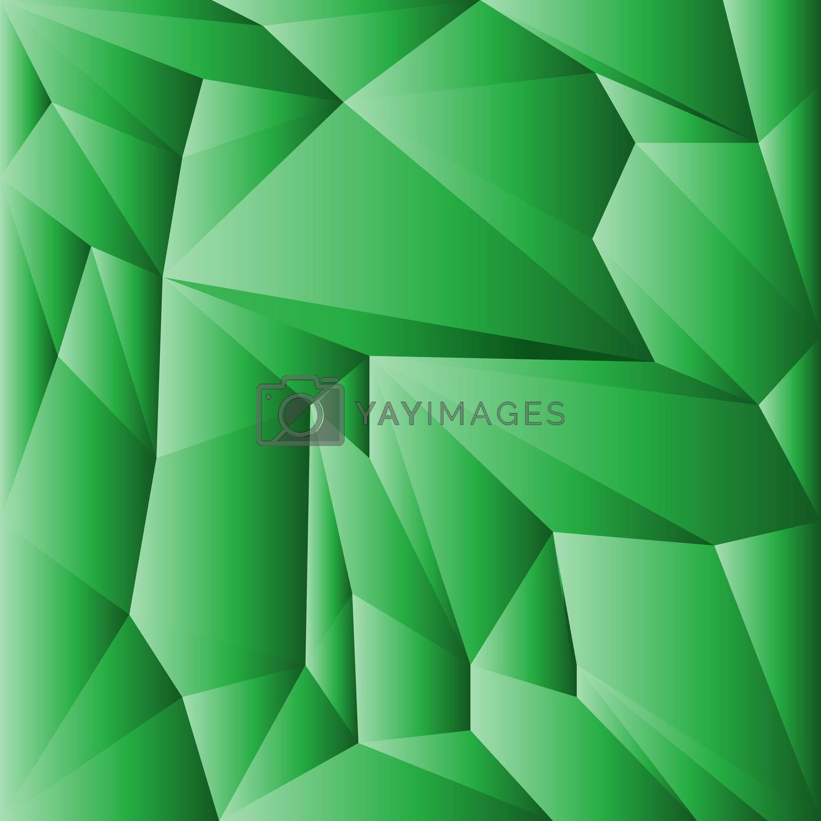 abstract geometric rumpled triangular low poly style vector illustration graphic background by Eskimos