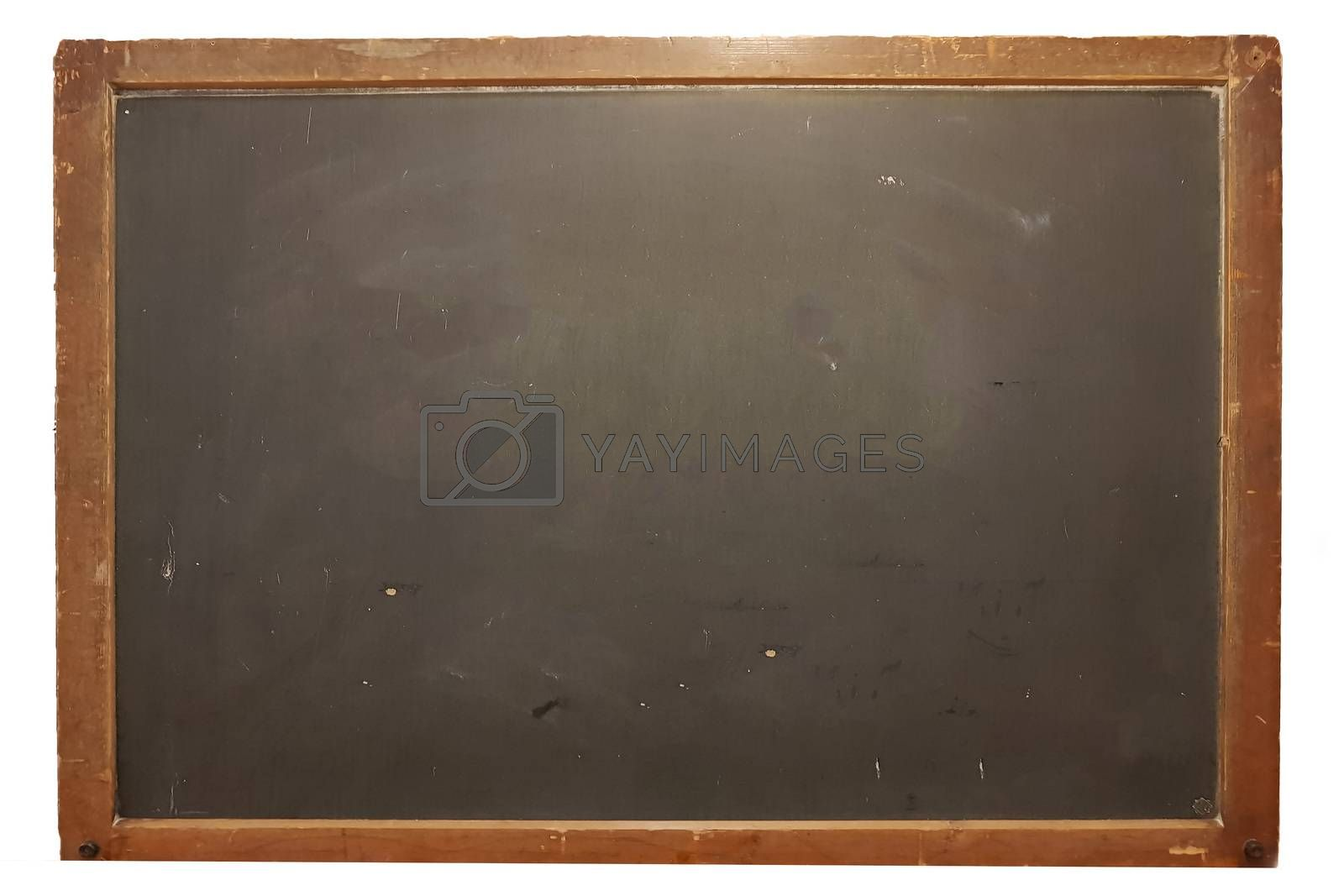Blank big school blackboard, write your own message with copy space