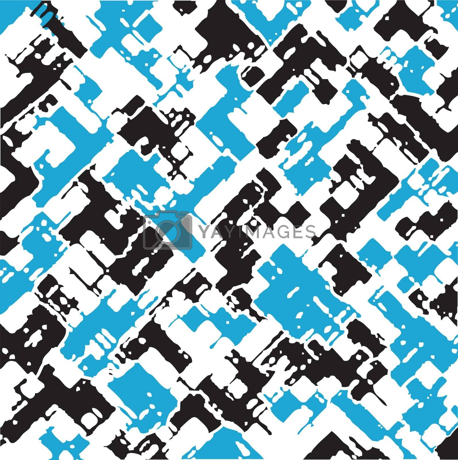 Abstract set of pattern
