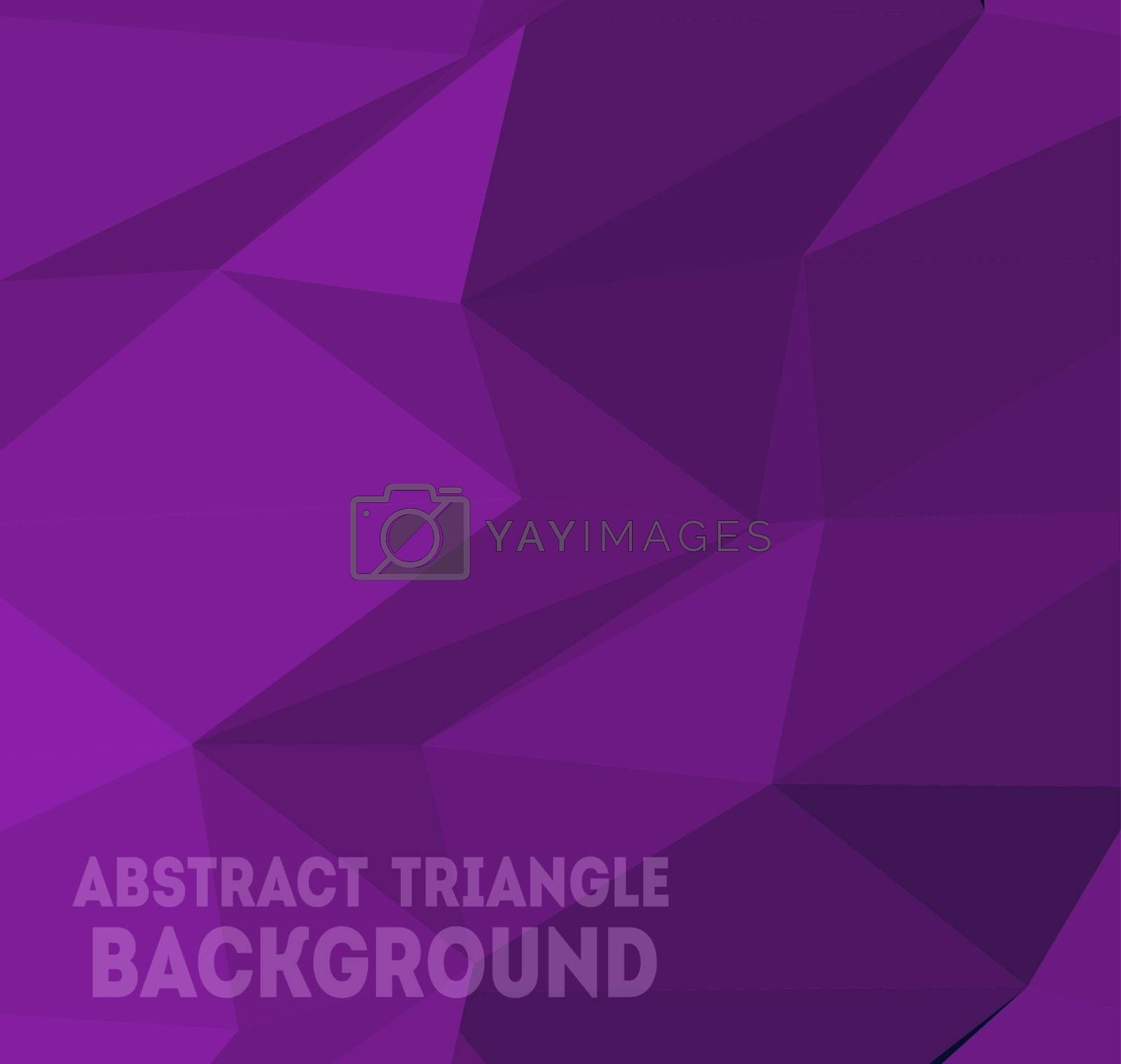 Triangle background pattern of geometric elements