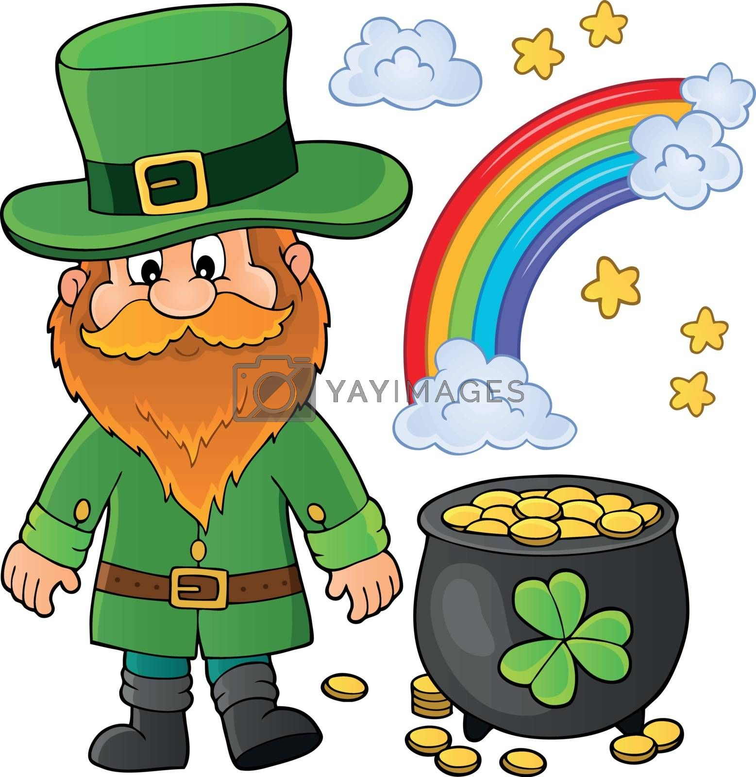 St Patricks Day theme image 1 - eps10 vector illustration.