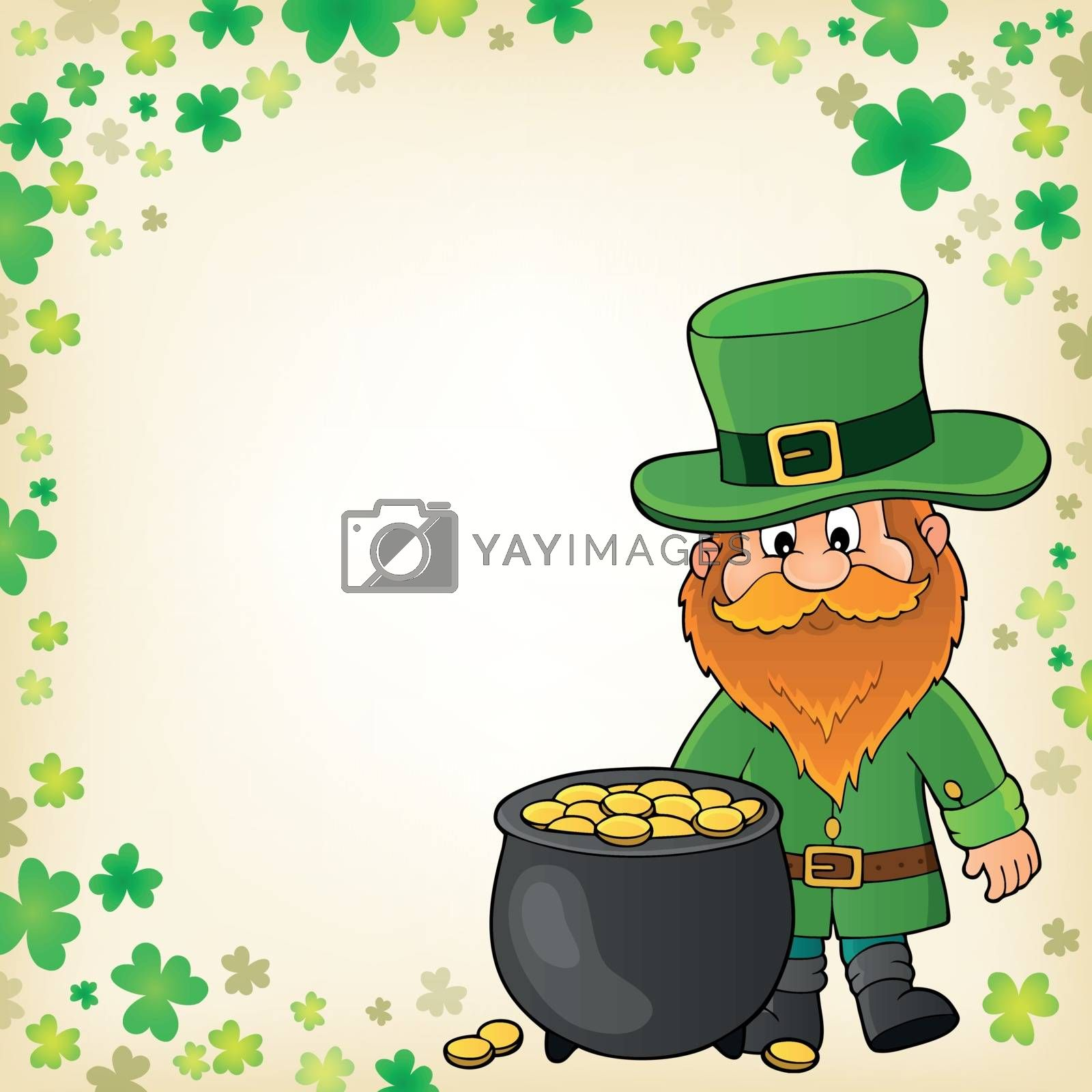 St Patricks Day theme image 3 - eps10 vector illustration.