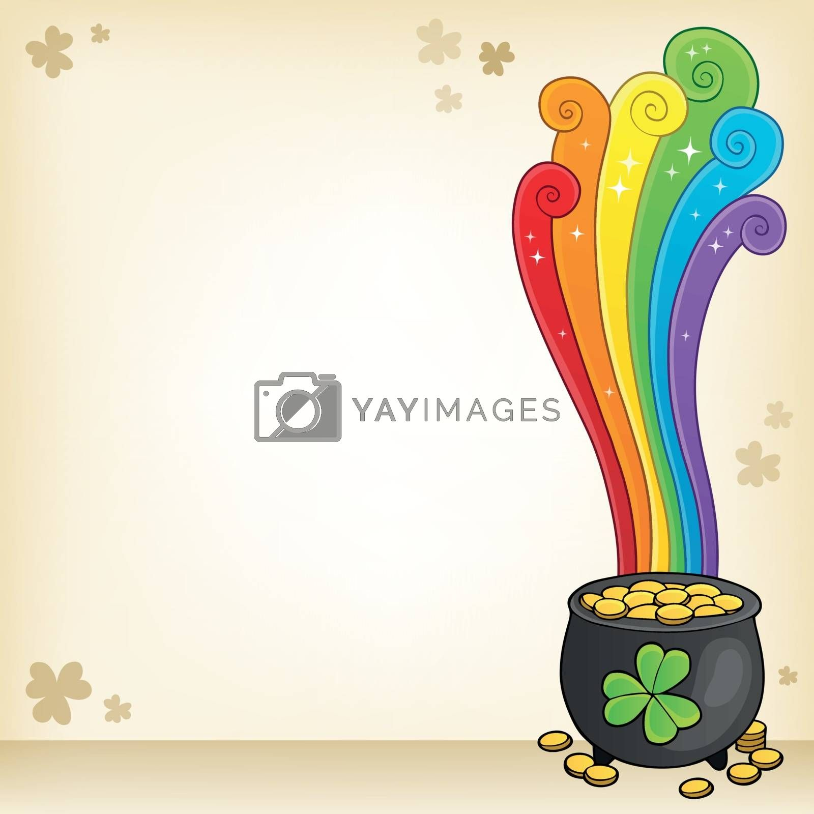 St Patricks Day theme image 5 - eps10 vector illustration.