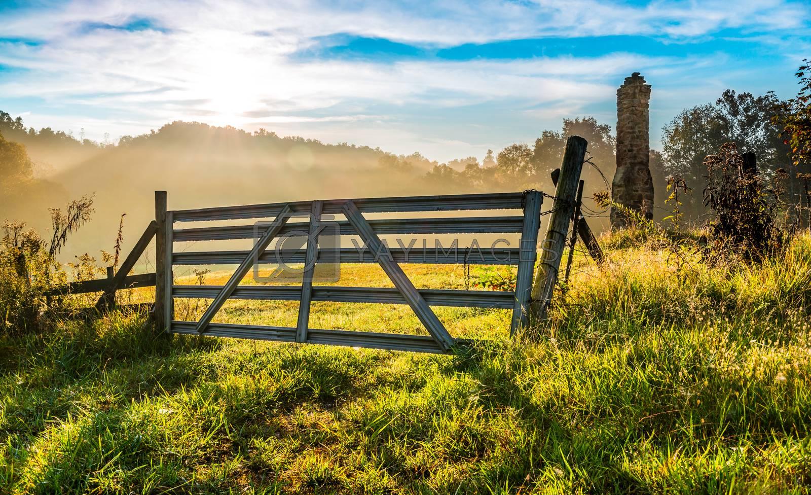 Old Farm Gate #1.