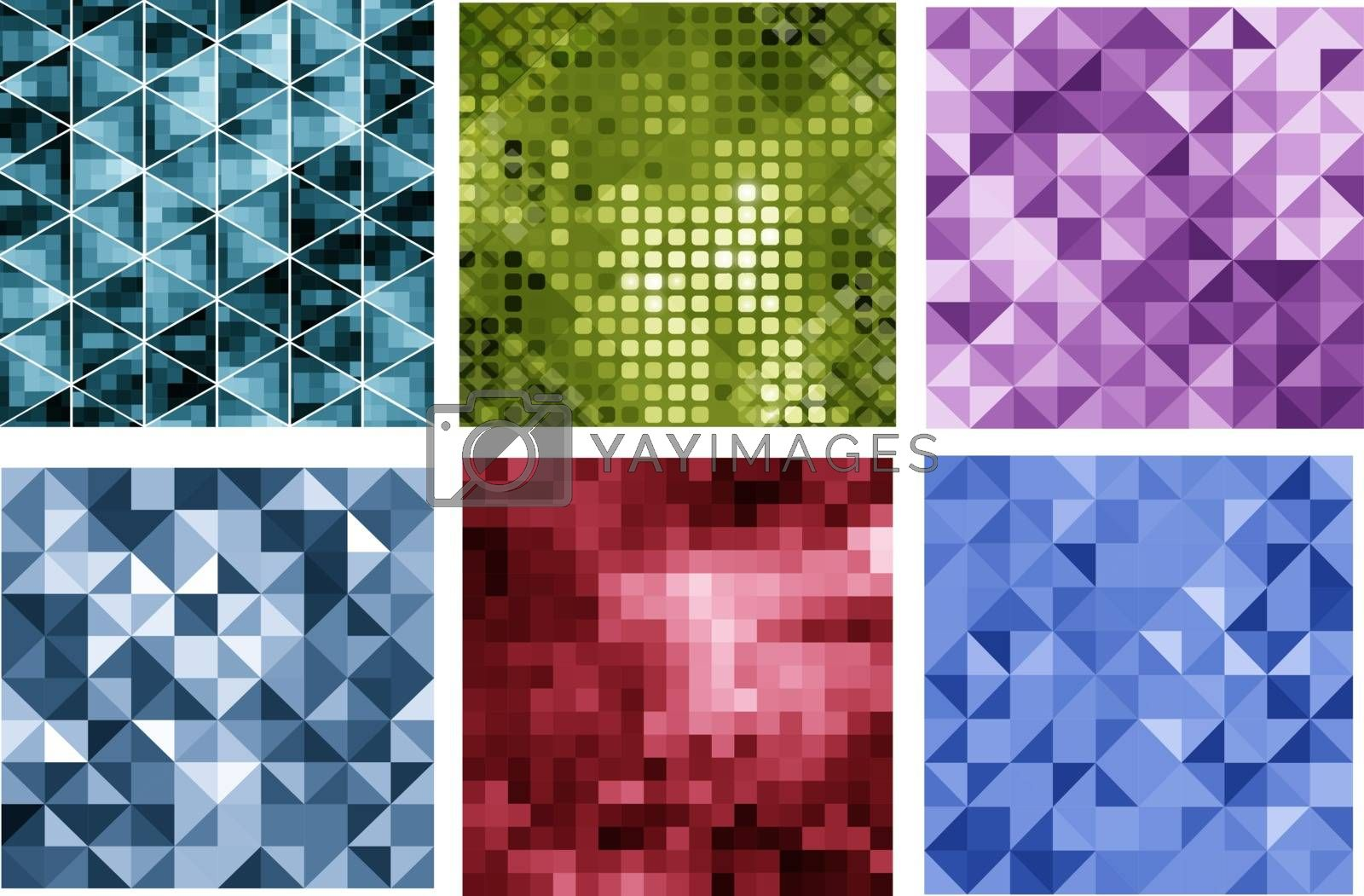 Abstract triangle background for presentations, creativity, design brochures and websites
