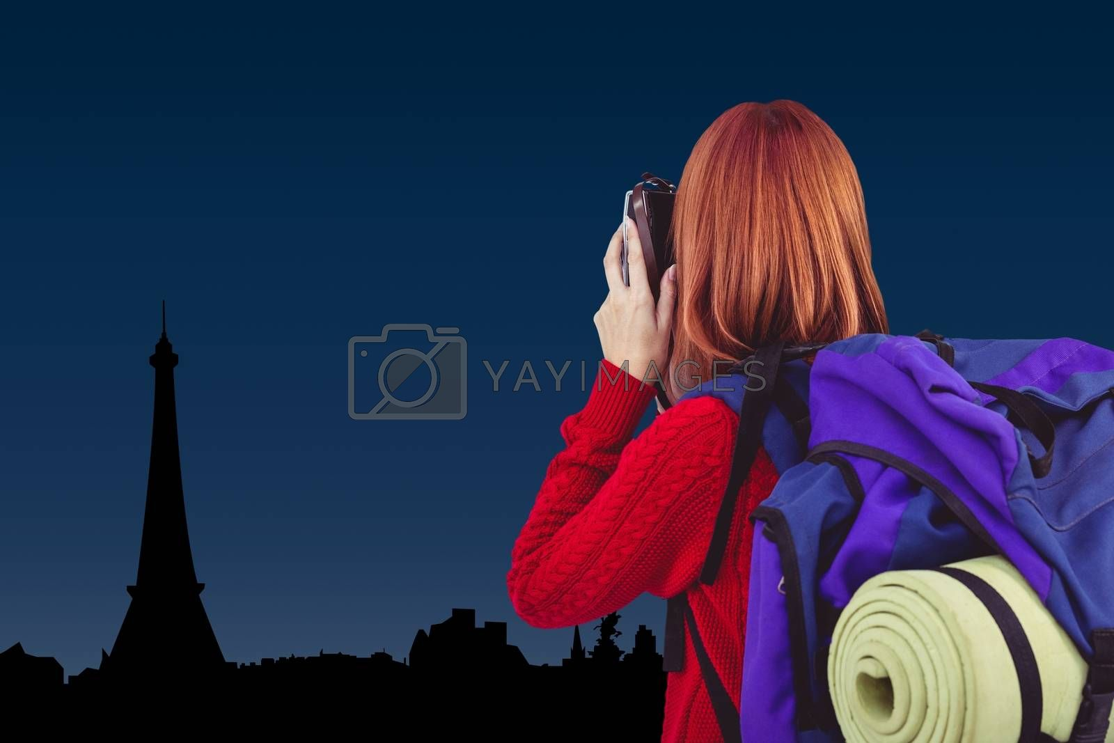 Digital composite of travel torso15