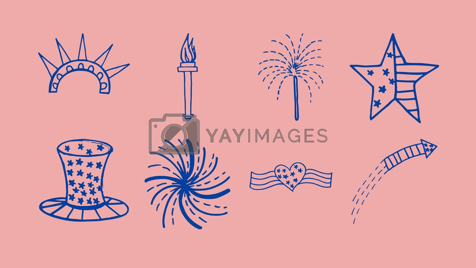 Vector icon of celebration by Wavebreakmedia
