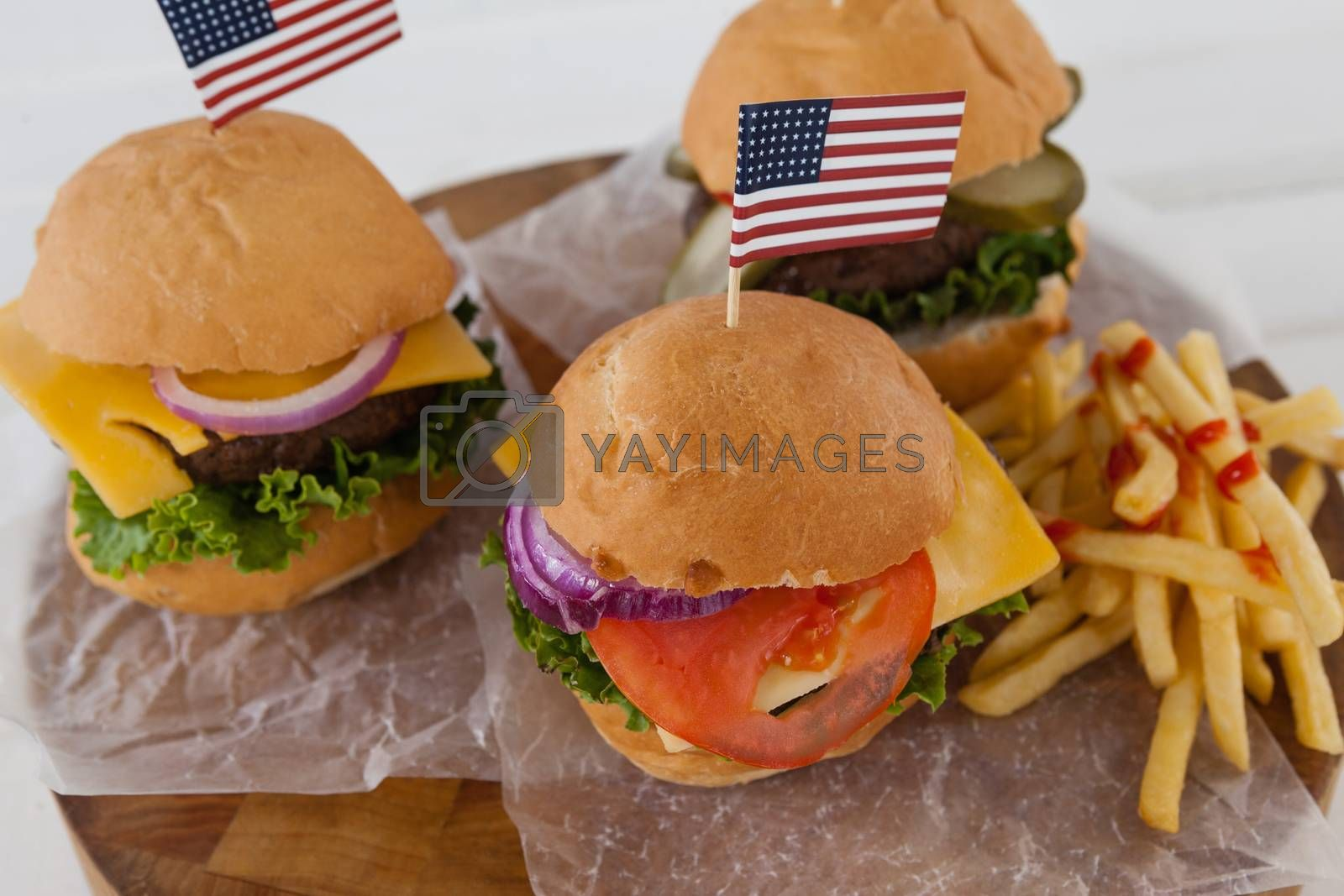 Snacks with 4th july theme by Wavebreakmedia