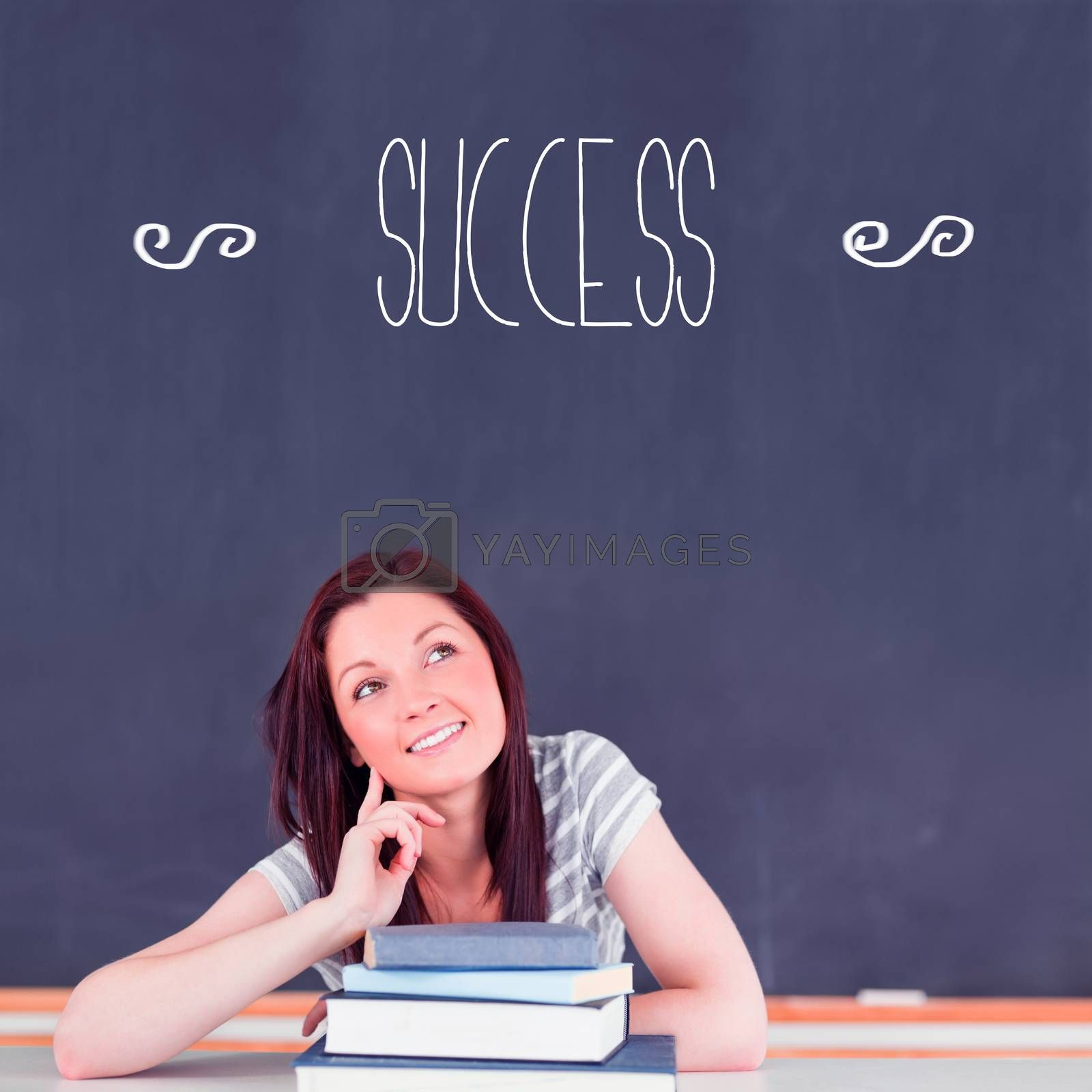 The word success against student thinking in classroom