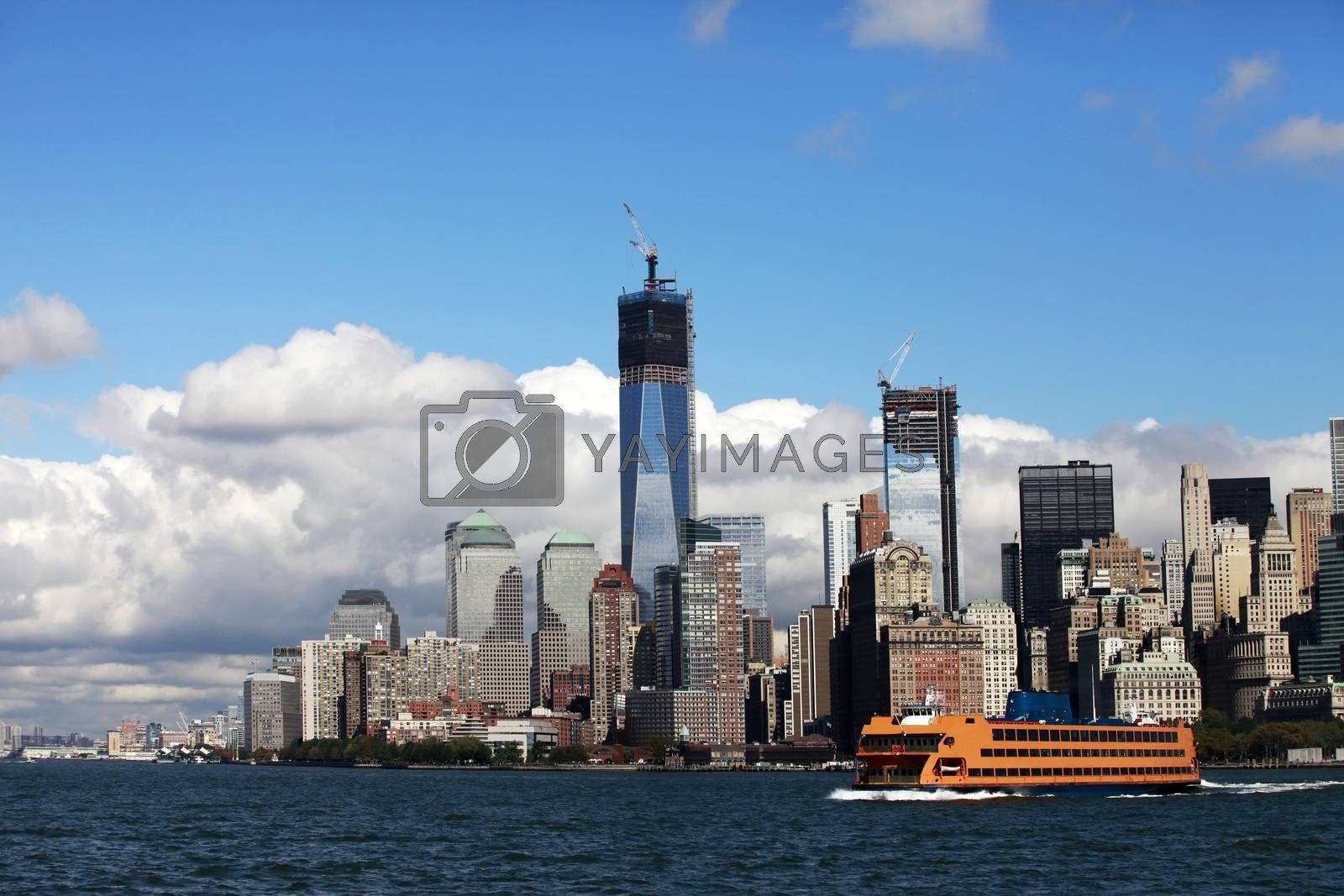 Regular ferry service between New York City - Manhattan and Stat by friday