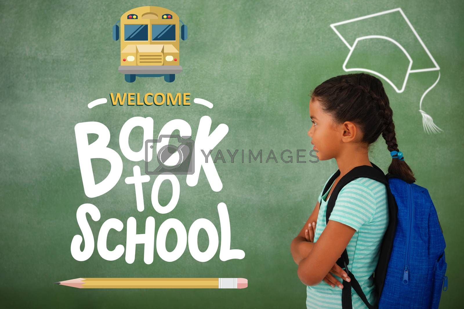 Composite image of back to school by Wavebreakmedia
