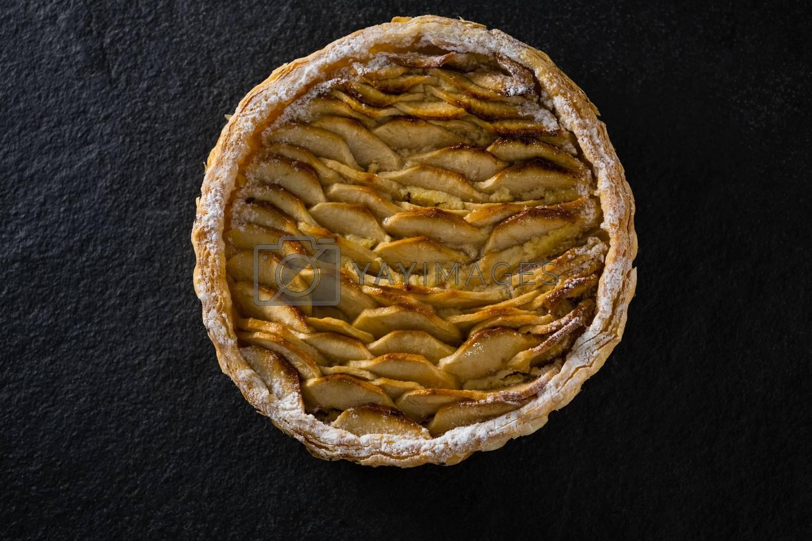 Close-up of apple tart by Wavebreakmedia