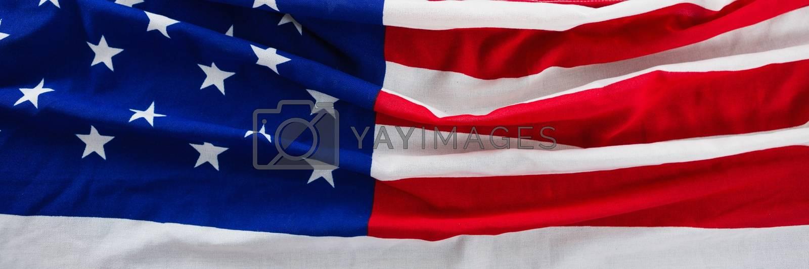 USA flag by Wavebreakmedia