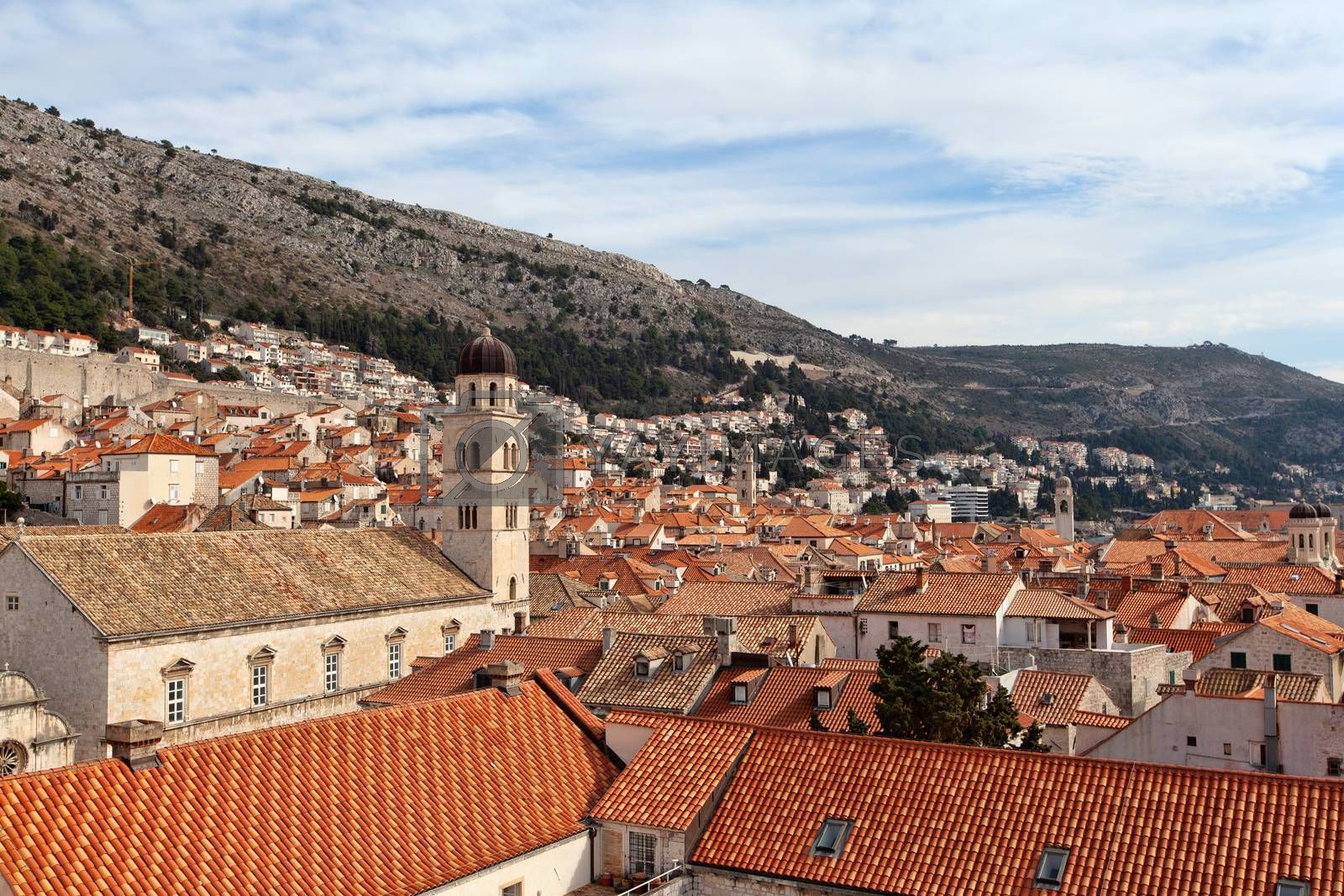 Dubrovnik from above, Croatia by vlad-m