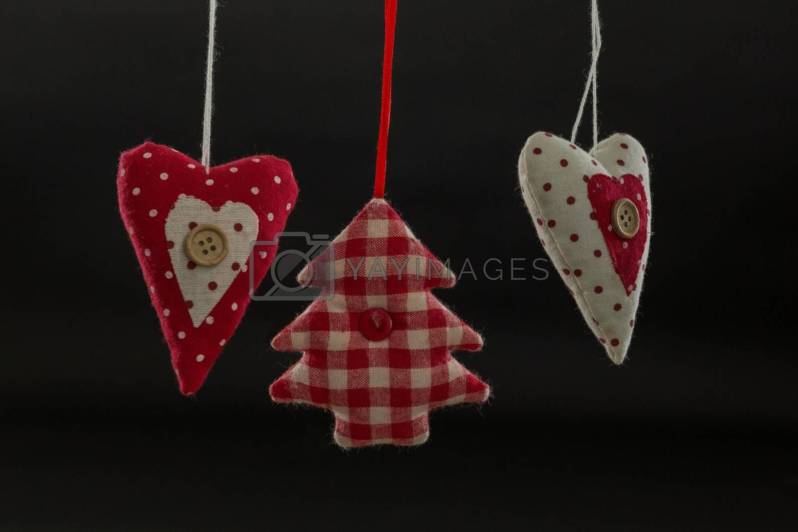 Close up of Christmas decoration hanging by Wavebreakmedia