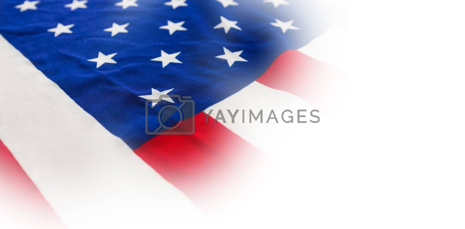 Close-up of national flag by Wavebreakmedia