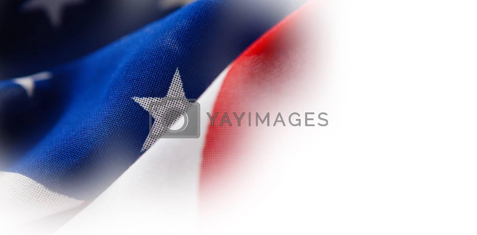Close-up of wrinkled national flag by Wavebreakmedia