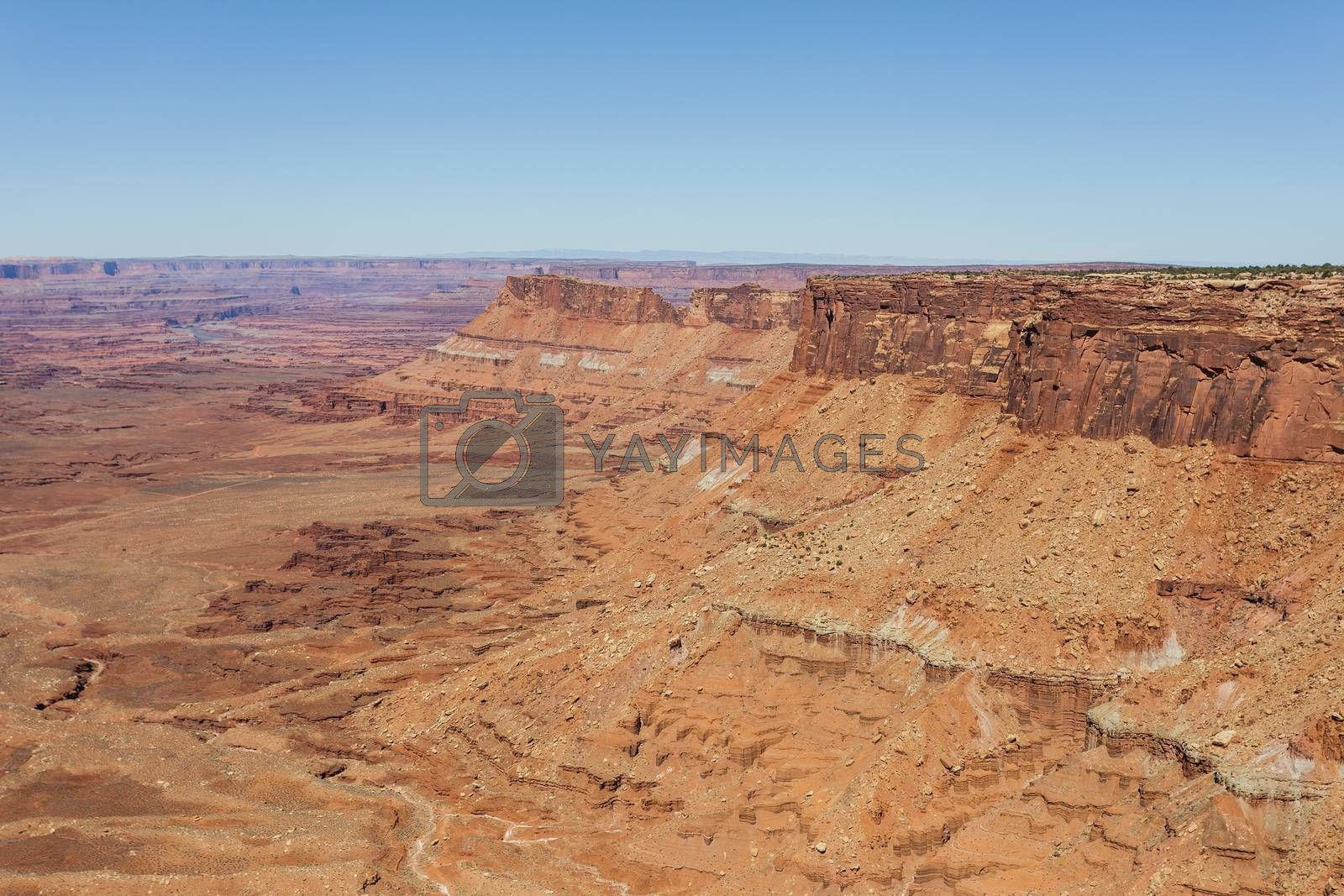 Red Rock Formations Near Canyonlands National Park, Utah. by Gary Gray