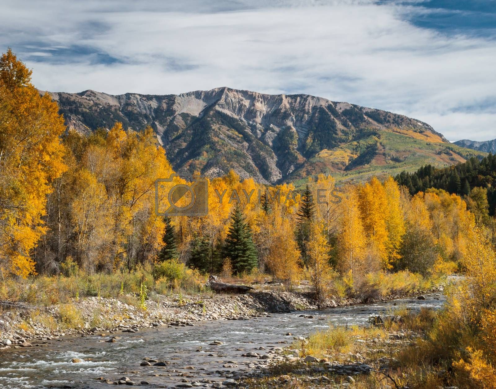 Beautiful Autumn Color in the San Juan Mountains of Colorado. by Gary Gray