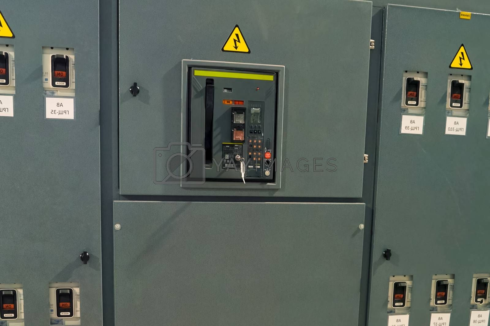 Substation and power transformer. Substation and power transformer.