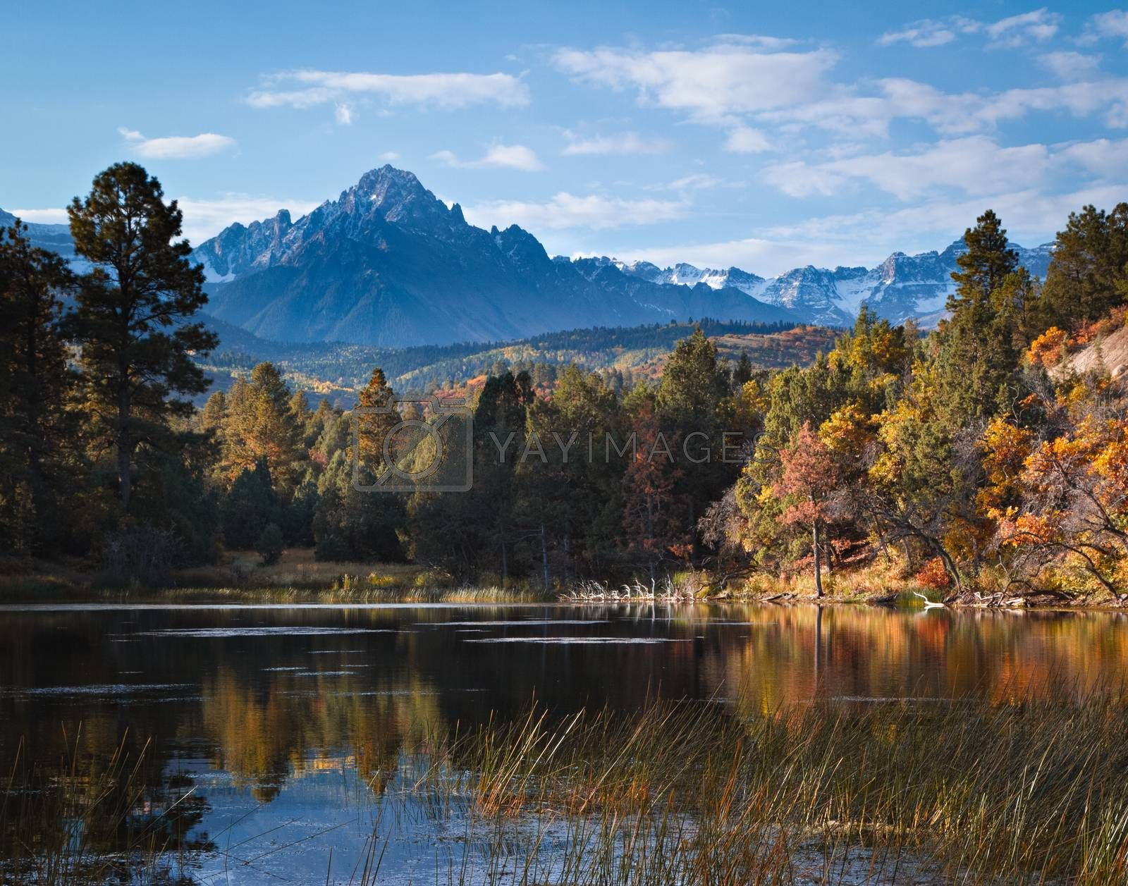 Colorado landscapes. The scenic beauty of the Colorado Rocky Mountains.