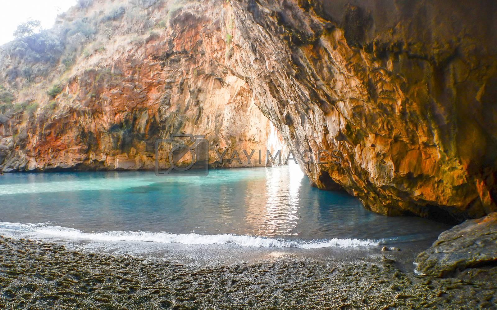 Arcomagno beach, Coast of the Cedars, Tyrrhenian Sea, Italy by Marco Rubino