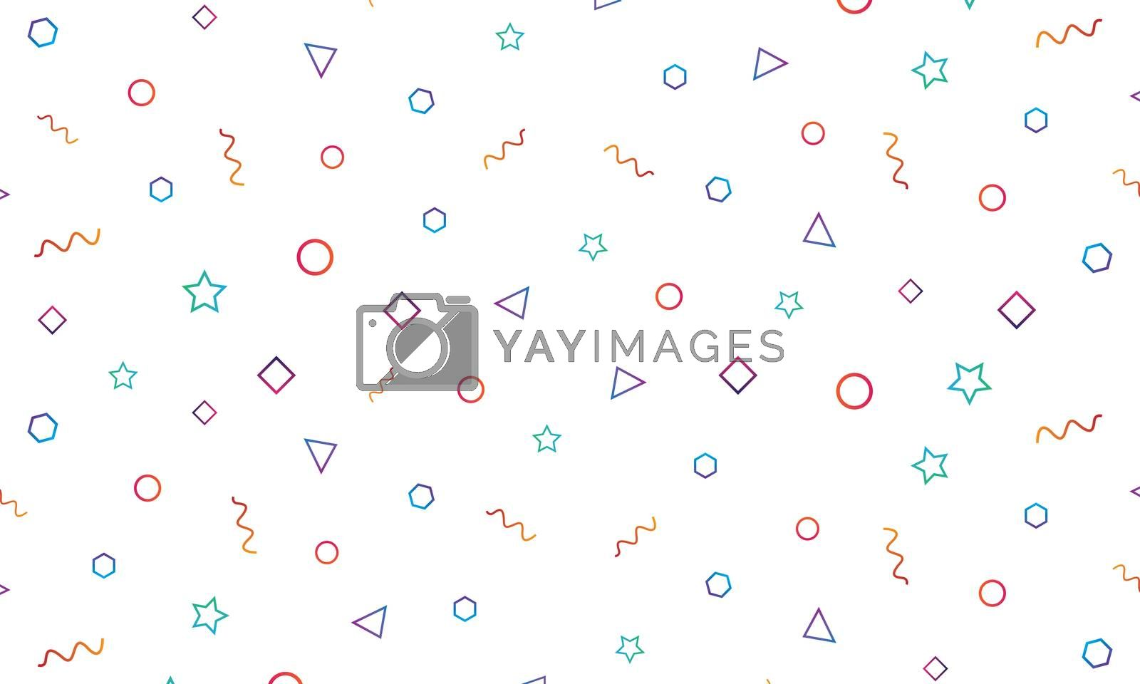 Abstract patterns background.Seamless geometric