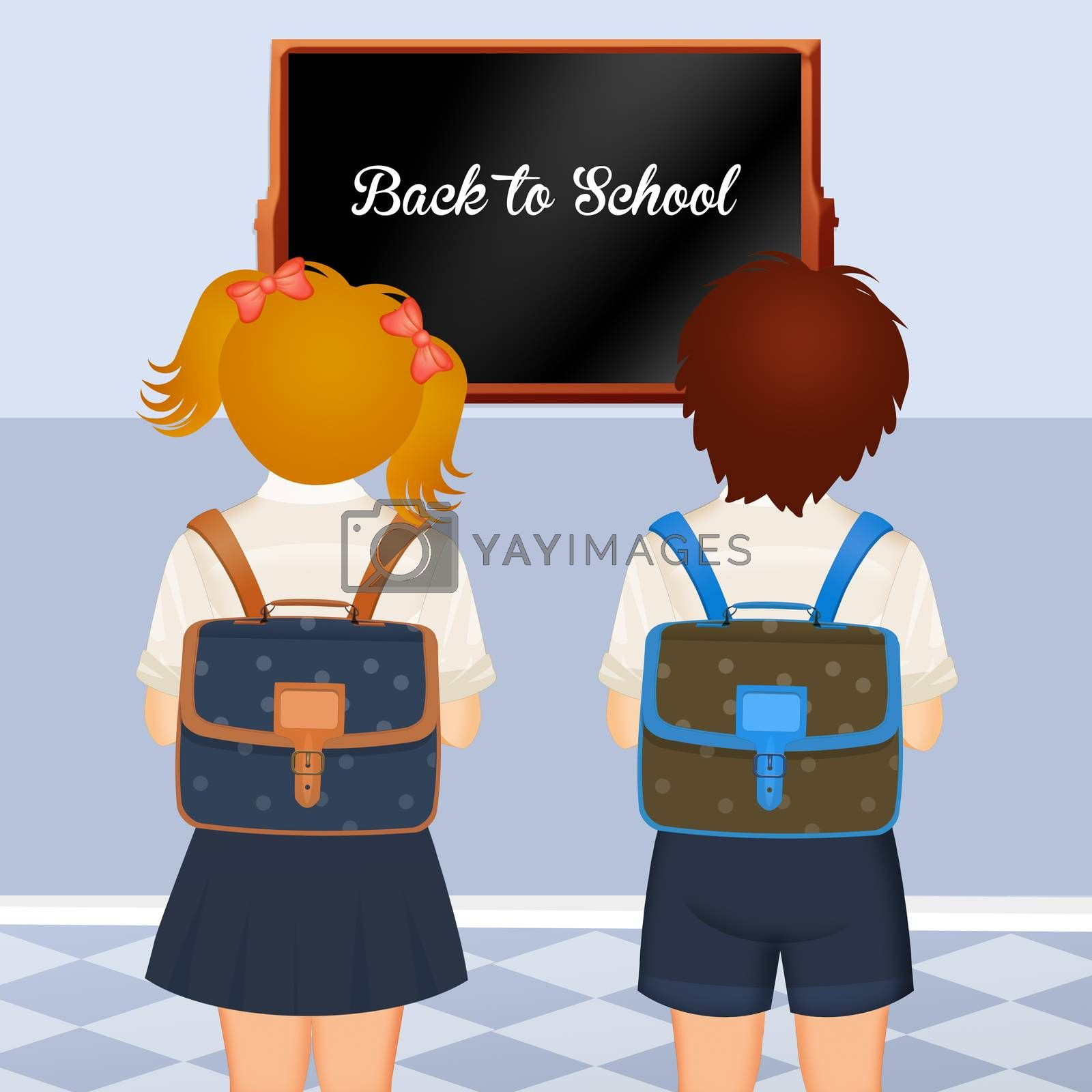 illustration of back to school