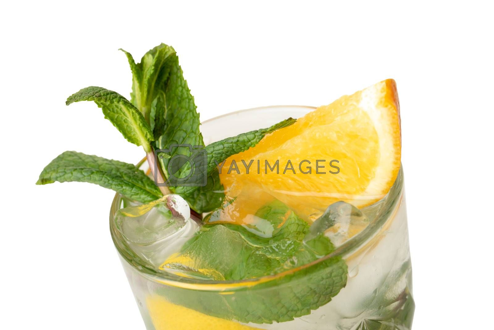 Royalty free image of Cocktail drink isolation on a white by SergeyAK