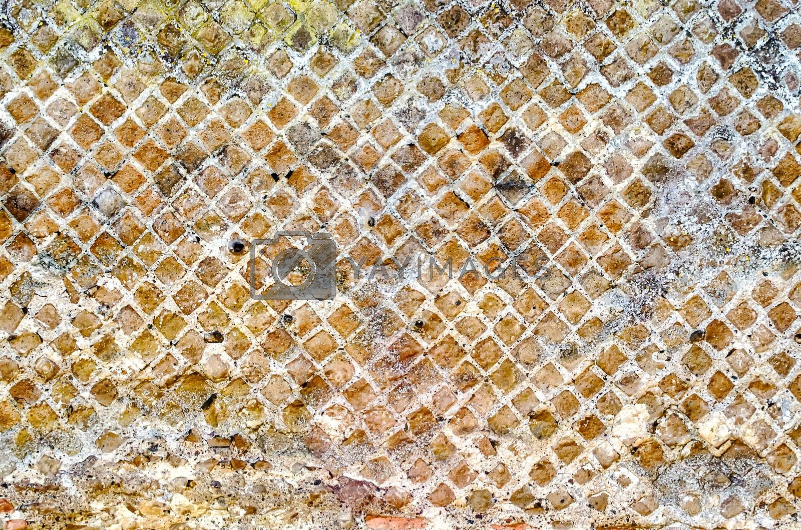 Stone Brick Wall Texture, may use as background by Marco Rubino