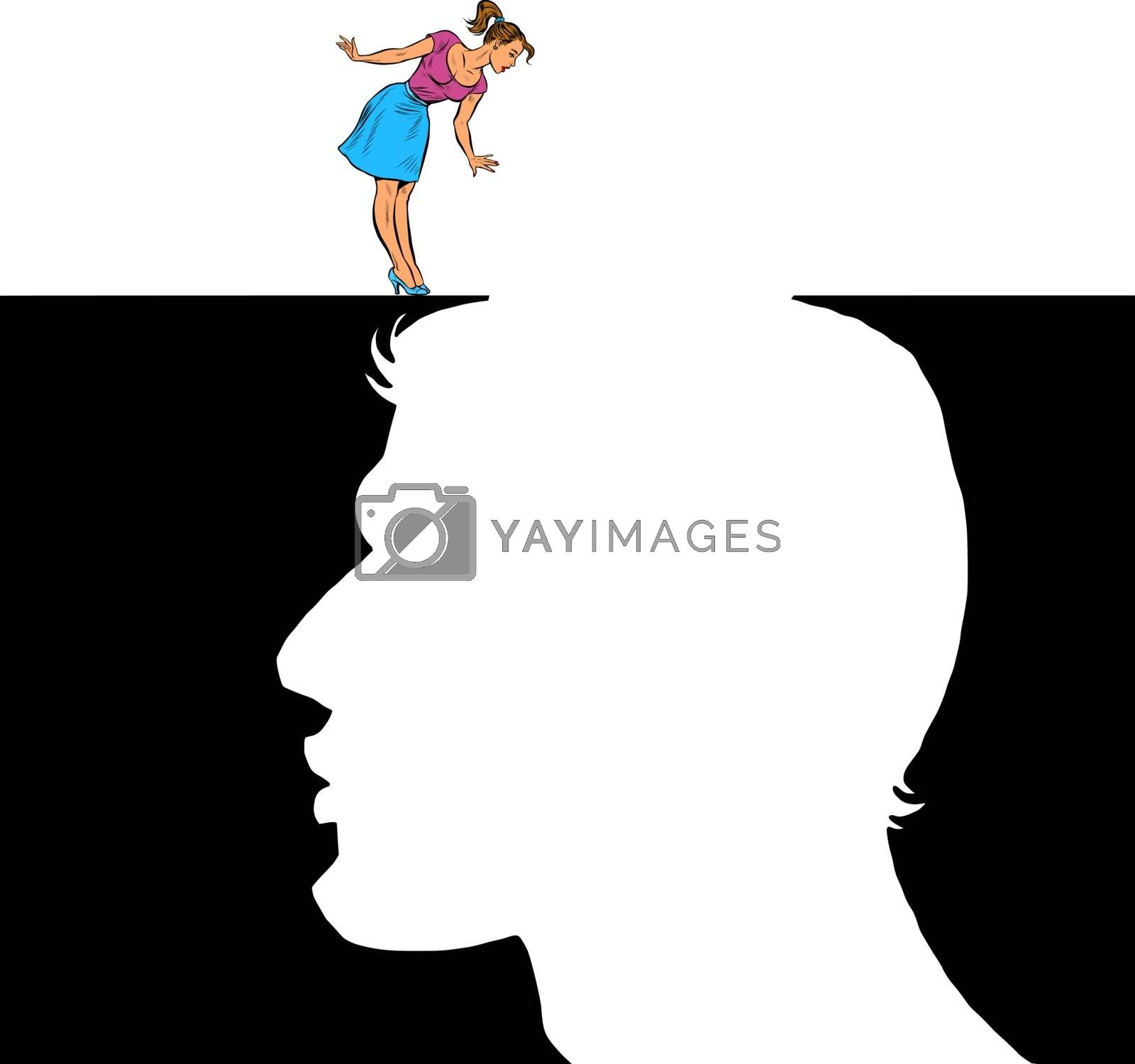 Royalty free image of Woman and man love concept by studiostoks