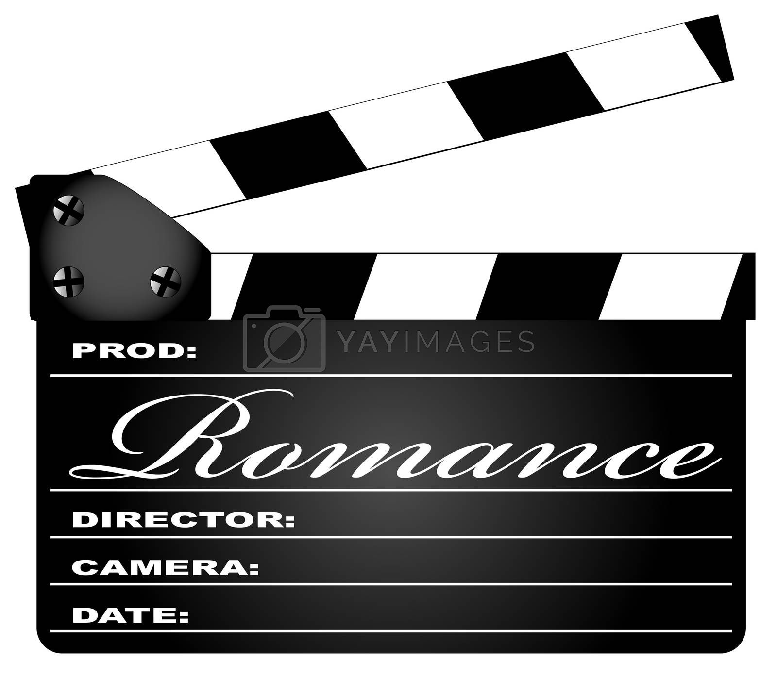 Romance Clapperboard by Bigalbaloo
