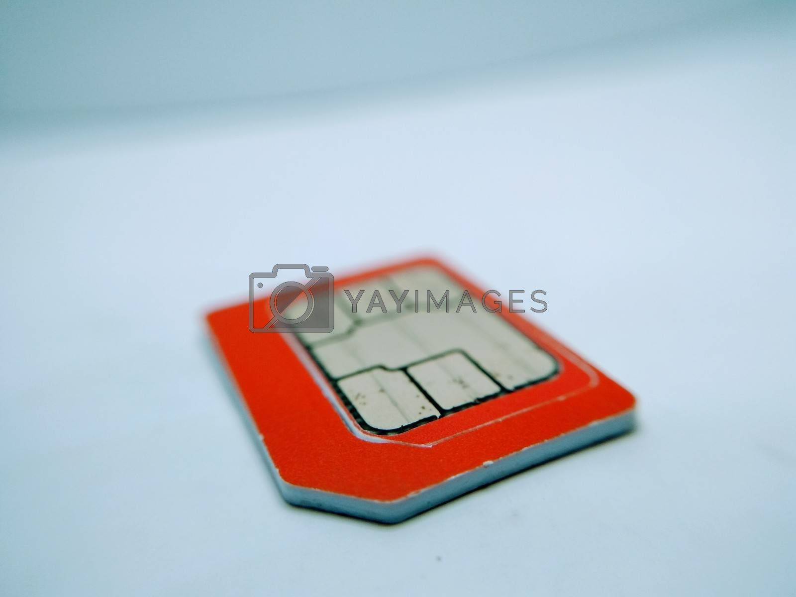 A picture of sim card