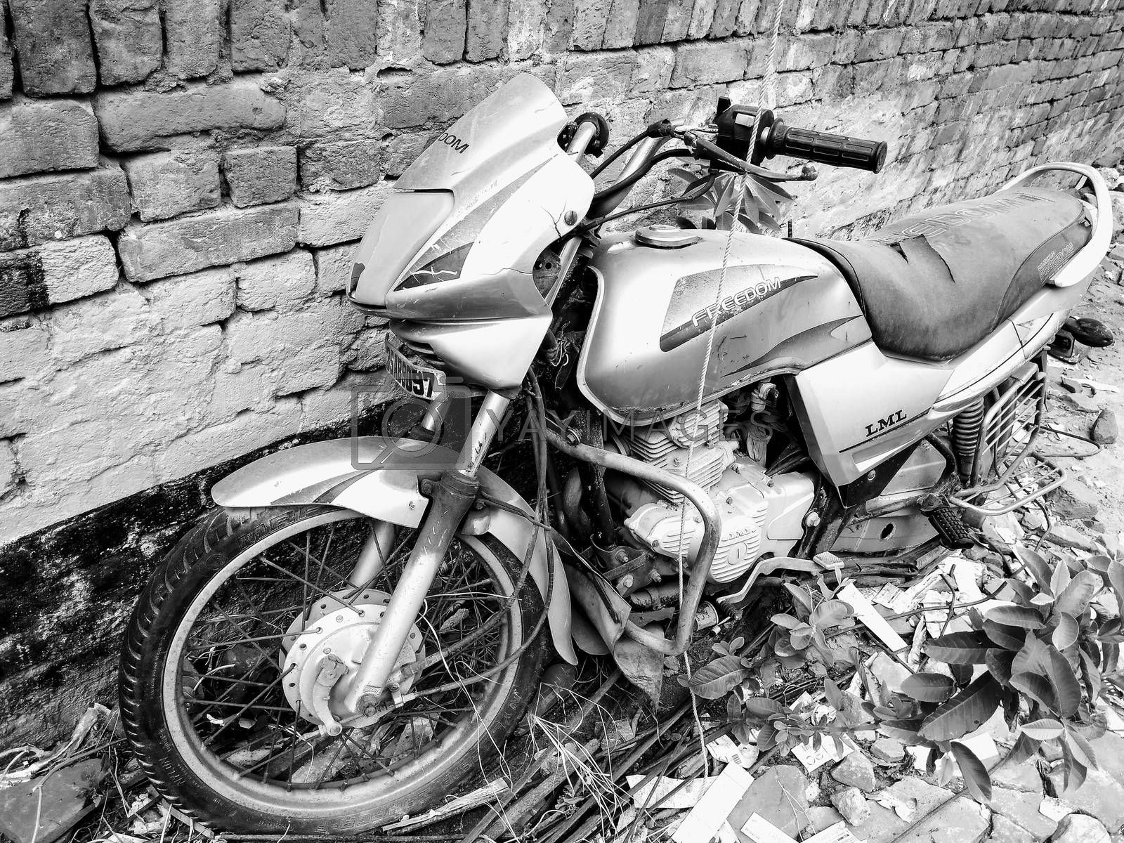 A picture of motorbike
