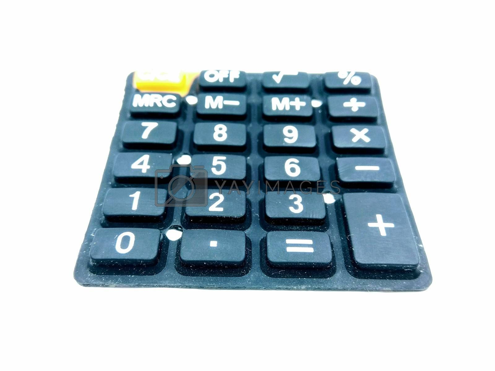 A picture of keypad