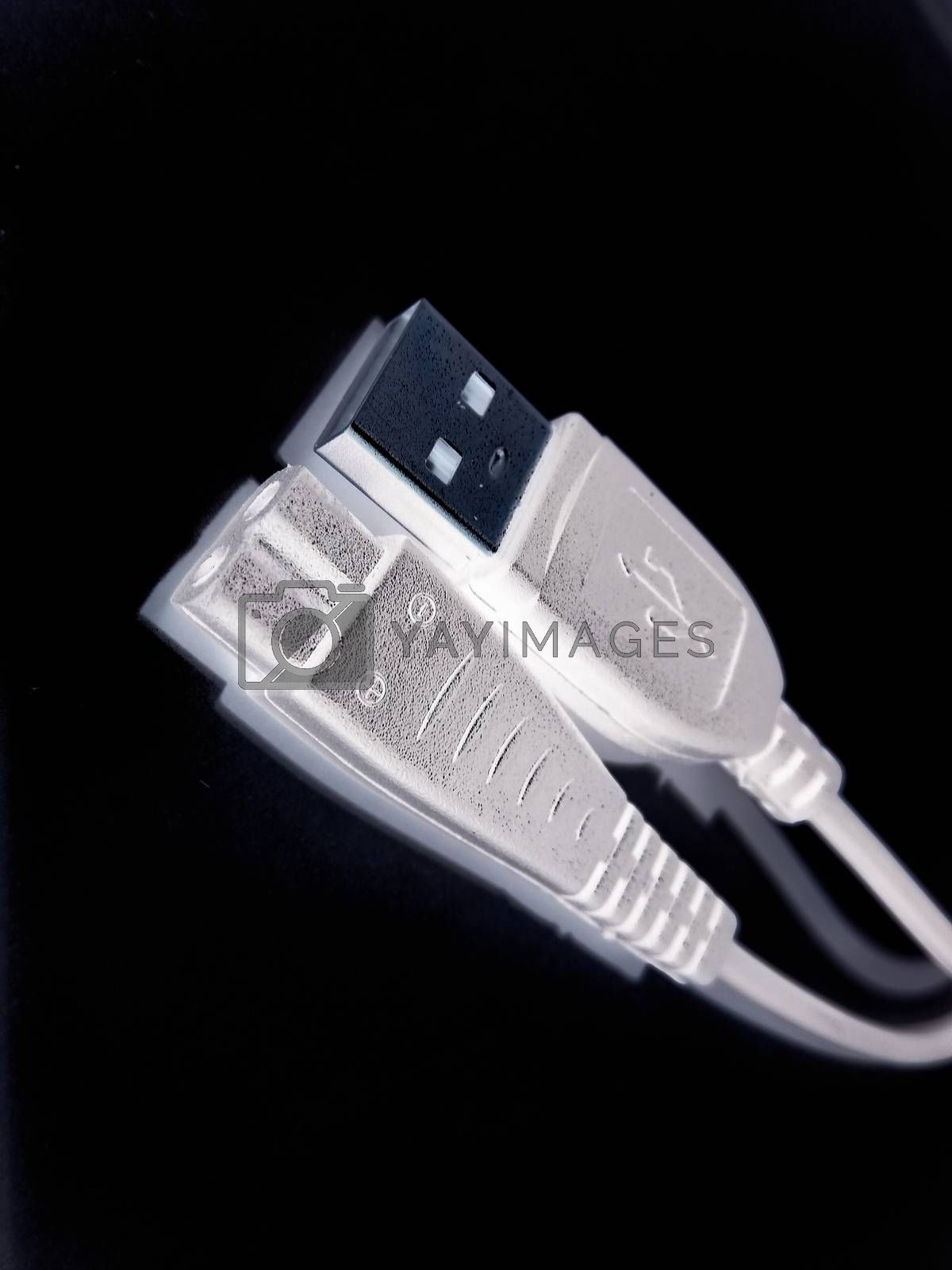 A picture of usb cable