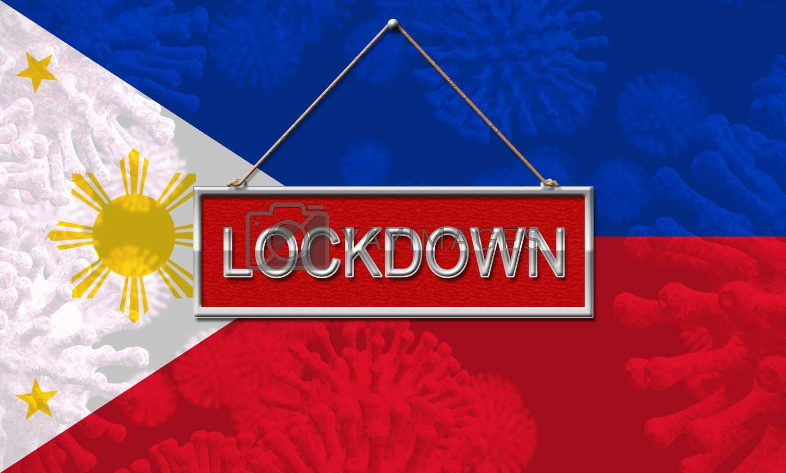 Philippines lockdown or shutdown preventing coronavirus epidemic by stuartmiles