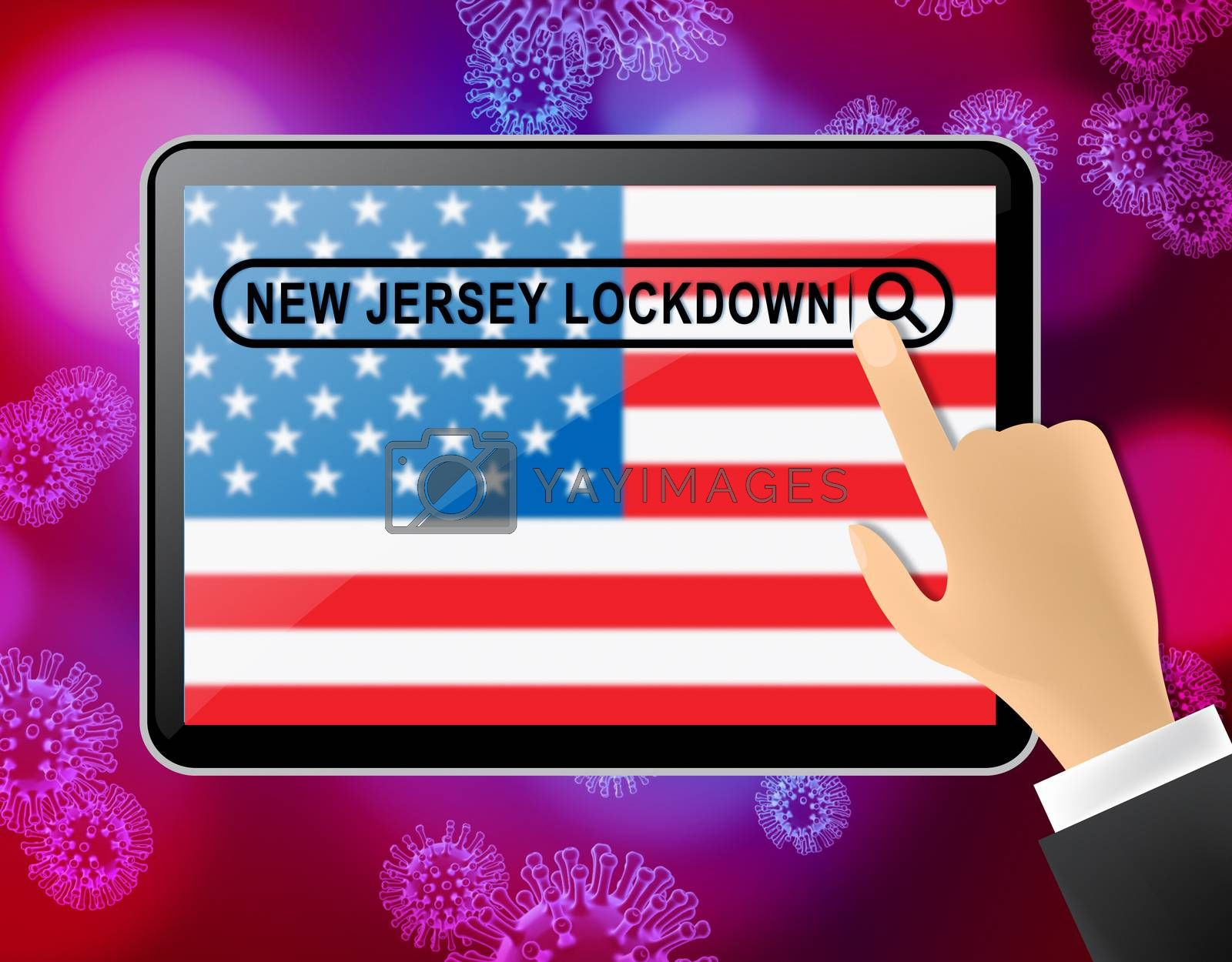 New Jersey lockdown news means curfew from coronavirus covid19 - by stuartmiles